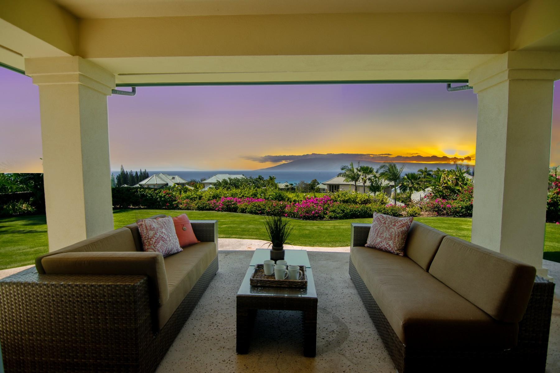 Single Family Home for Sale at Magical Pineapple Hill-Kapalua 804 Jacaranda Way Kapalua, Hawaii, 96761 United States