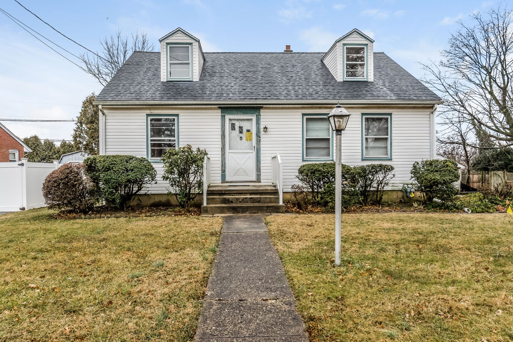 Single Family Home for Sale at Classic Cape on Large Lot 104 South Burtis Avenue, Hamilton, New Jersey 08690 United States