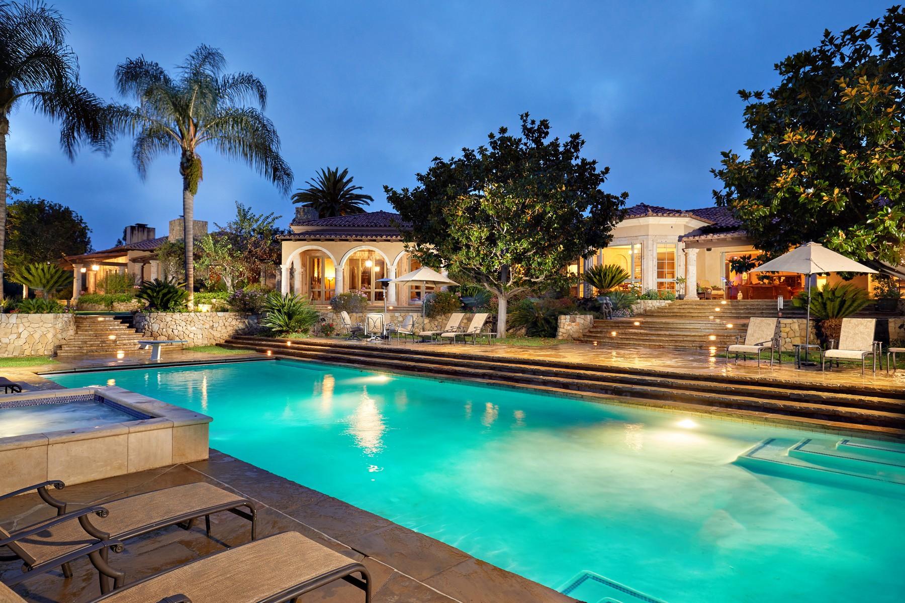 Moradia para Venda às 6372 Las Colinas Rancho Santa Fe, Califórnia, 92067 Estados Unidos
