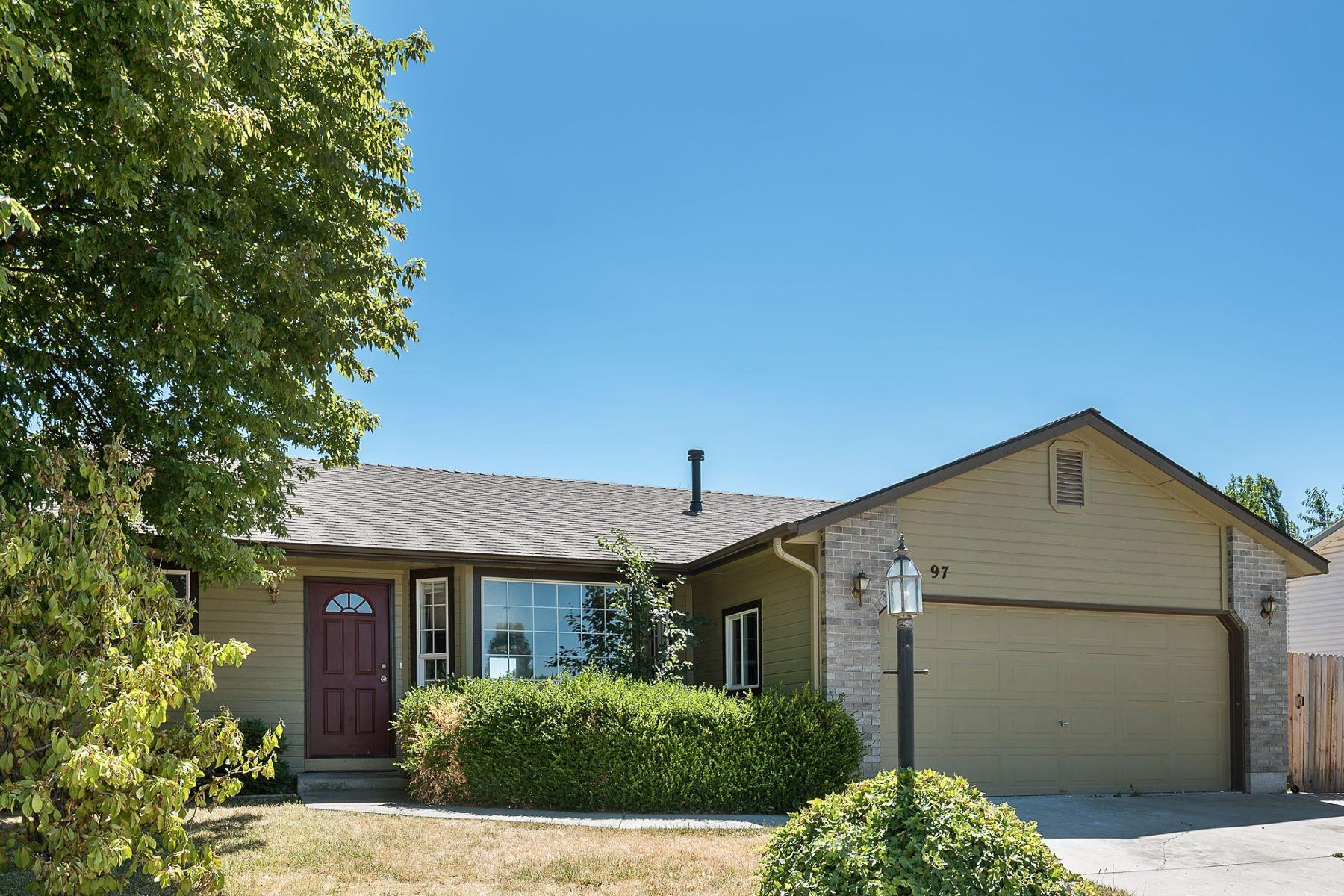 一戸建て のために 売買 アット 97 Woodbury Drive, Meridian 97 W Woodbury Dr Meridian, アイダホ, 83646 アメリカ合衆国