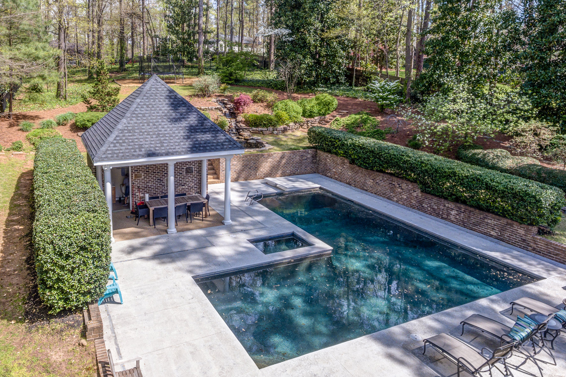 Additional photo for property listing at Beautiful Custom Home On Secluded One Acre Lot In Brookhaven 4650 Club Valley Dr Atlanta, Georgia 30319 United States