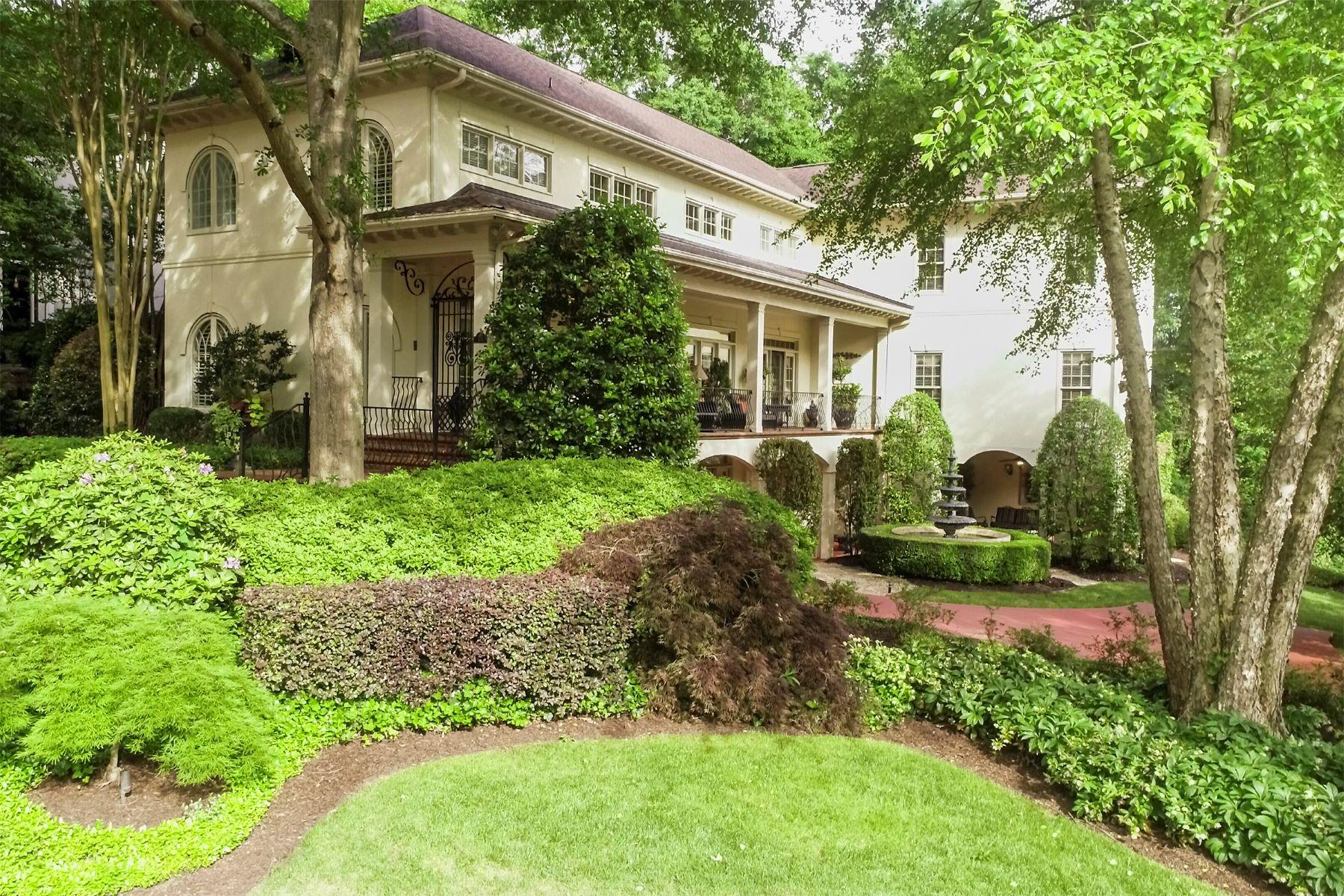 Single Family Homes للـ Sale في Stunning Charlestonian 27 Landsdown, Greenville, South Carolina 29601 United States