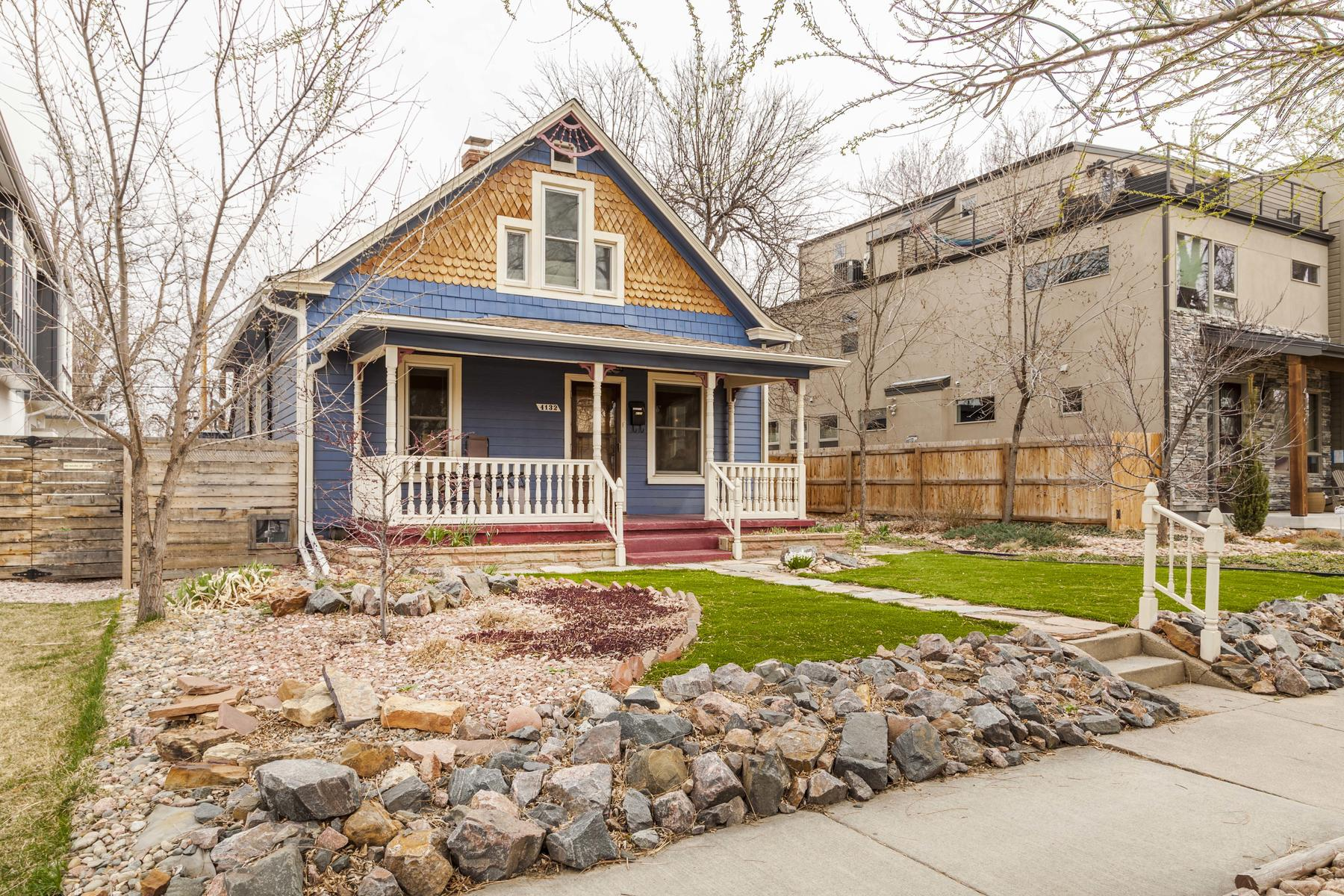 Single Family Home for Active at Charming bungalow in highly desirable Berkeley neighborhood. 4132 Vrain St Denver, Colorado 80212 United States