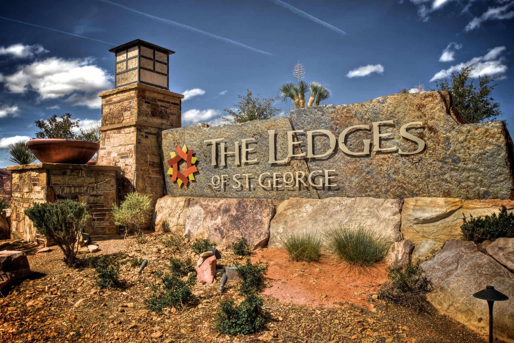 Additional photo for property listing at New subdivision, located within the gated side of the The Ledges Petroglyph Dr Lot 16 St. George, Utah 84770 United States