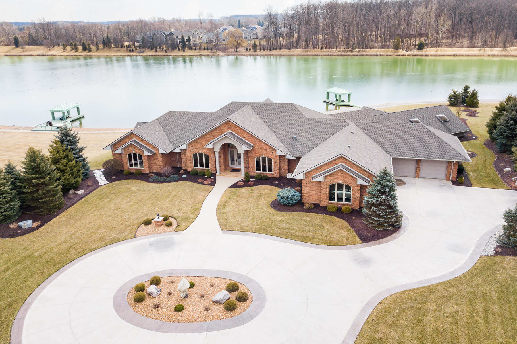 single family homes for Active at Private Lake in Fort Wayne 918 Sunset Lake Cove Fort Wayne, Indiana 46845 United States