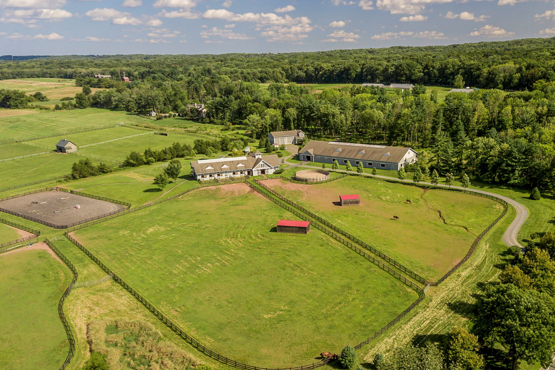 Property vì Bán tại Extraordinary Equestrian Facility Near Downtown Princeton 1479 Great Road, Skillman, New Jersey 08558 Hoa Kỳ