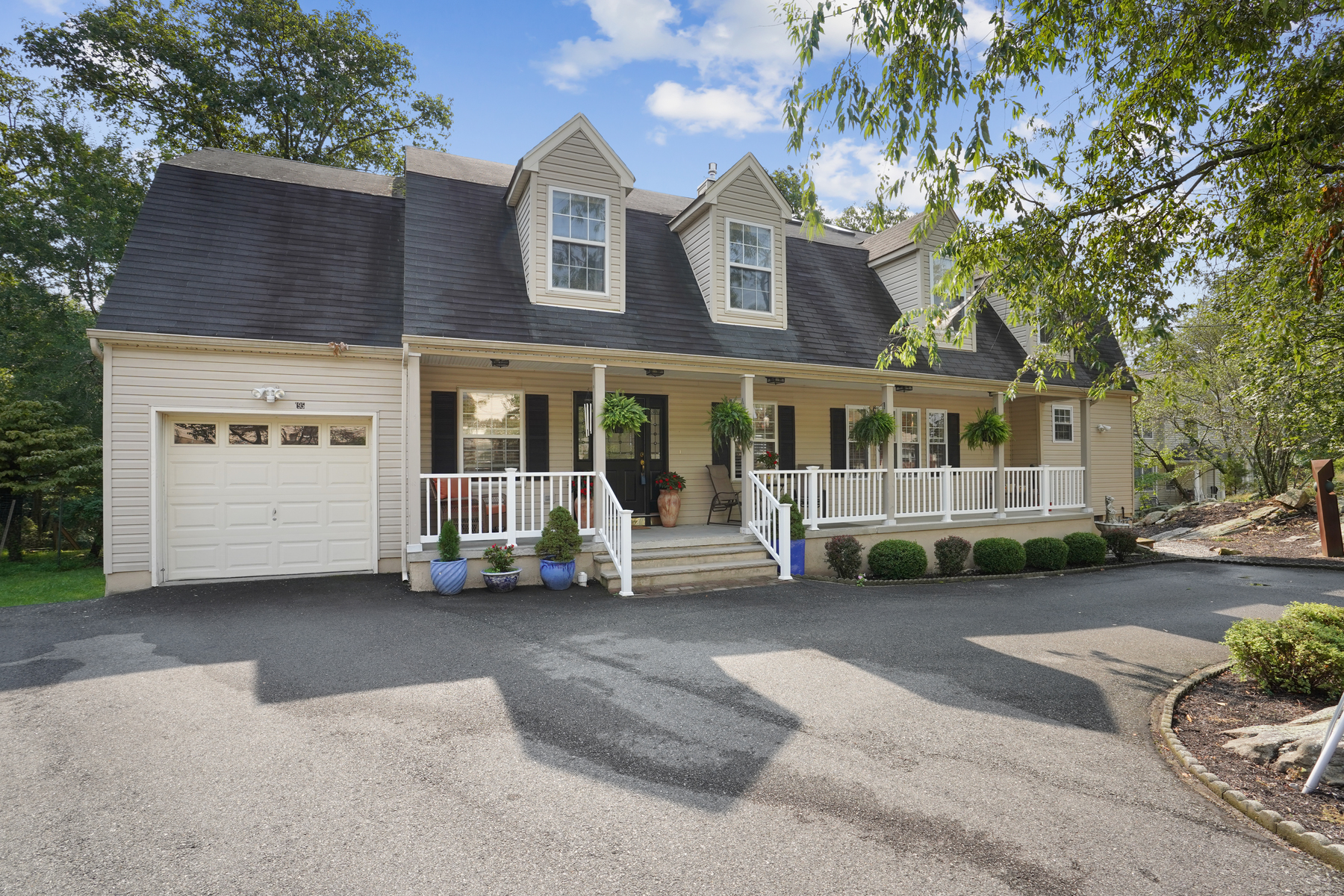 Single Family Homes for Active at Spectacular Custom Home in White Meadow Lake Community 195 W Lake Shore Drive Rockaway, New Jersey 07866 United States
