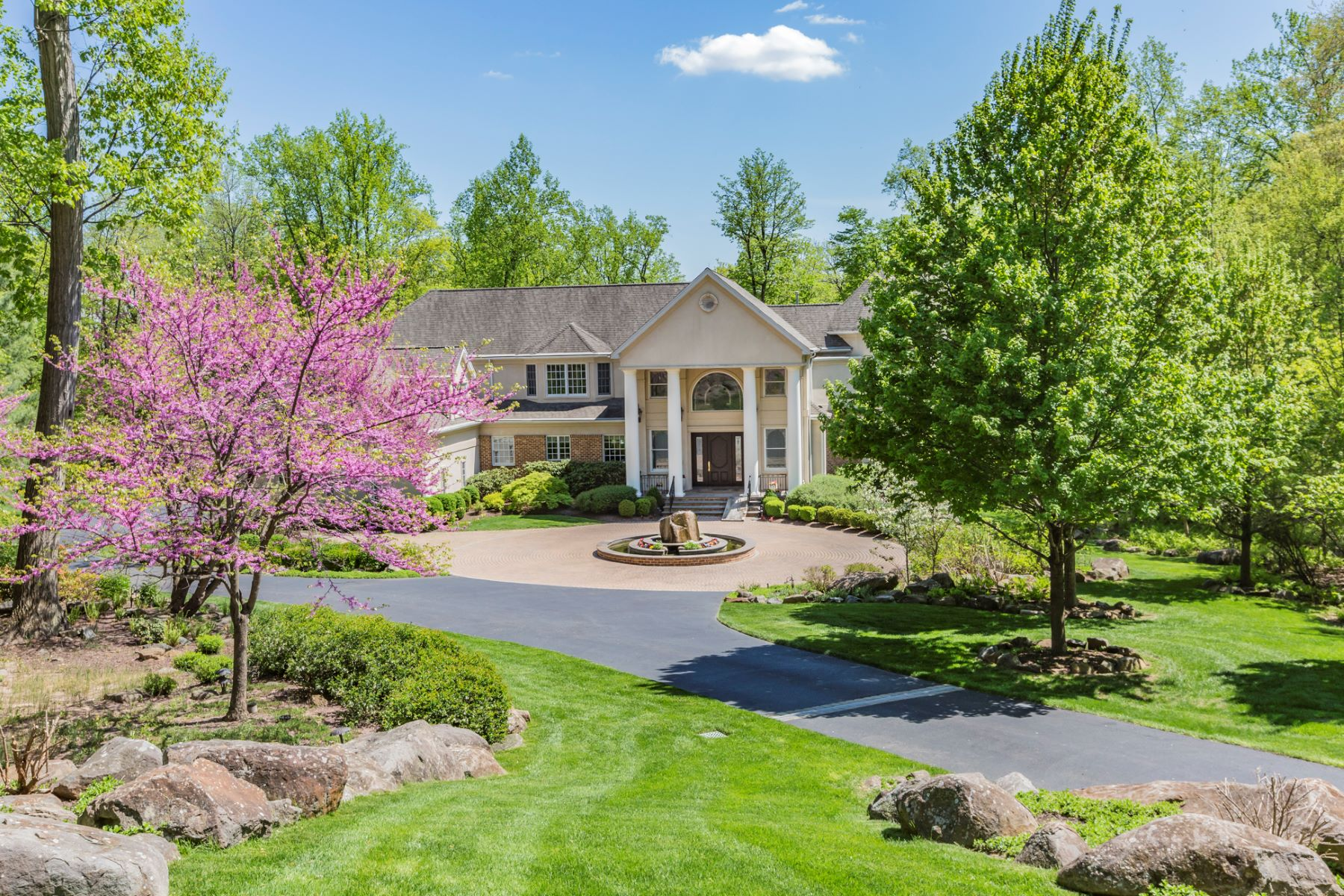 Single Family Home for Sale at Spectacular Estate Is an Entertainer's Paradise 19 Hageman Lane, Princeton, New Jersey 08540 United StatesMunicipality: Princeton
