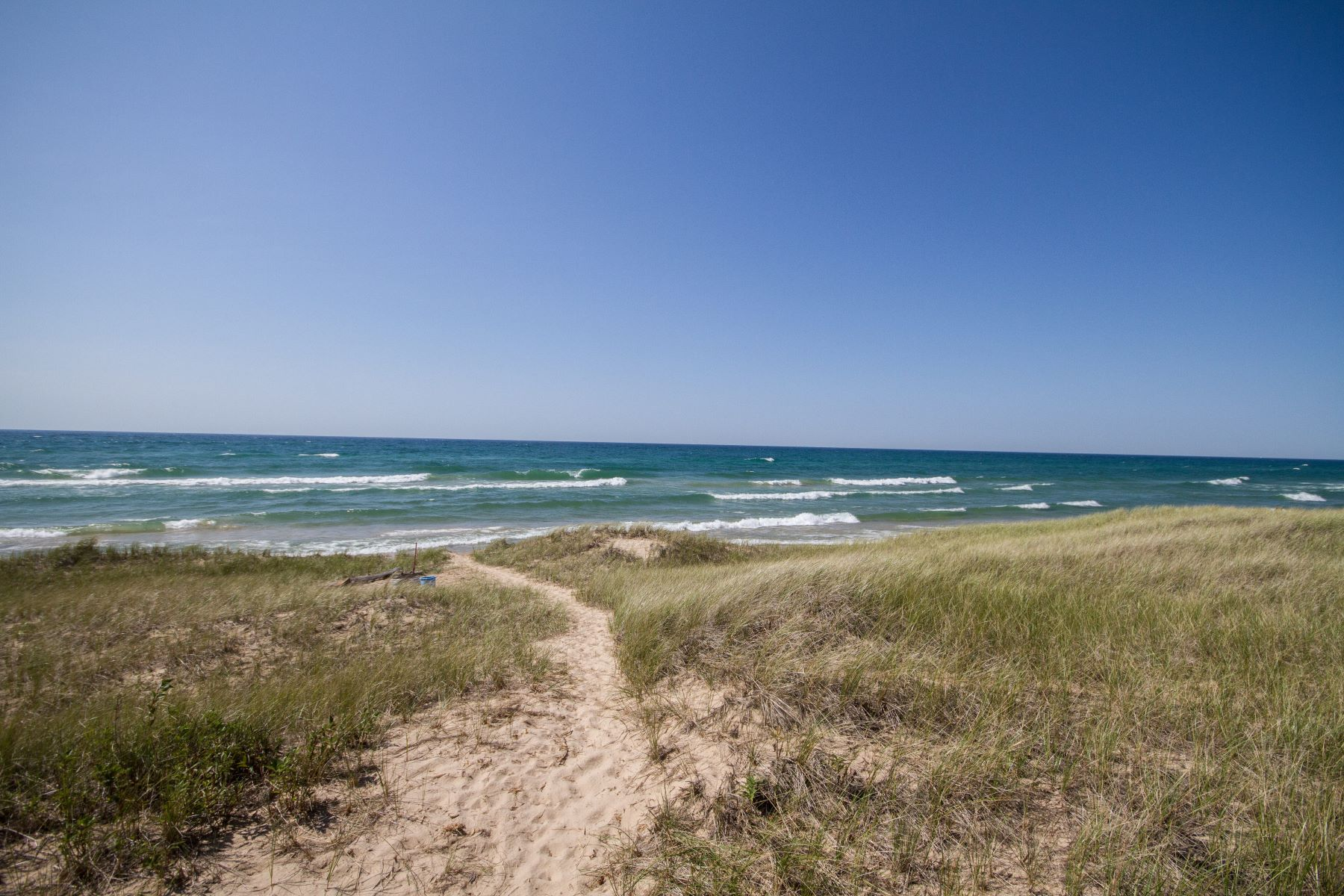 Land for Active at Exquisite Lot With 100' Lake Michigan Frontage 7 Sheltering Way Whitehall, Michigan 49461 United States