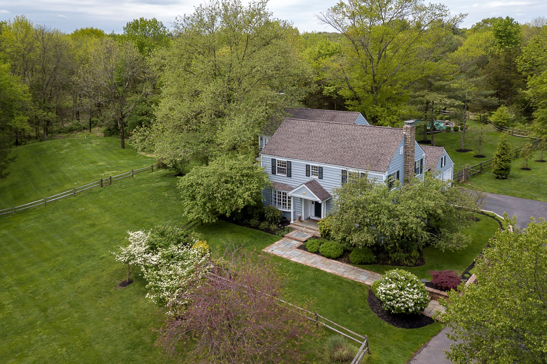 Single Family Homes for Sale at Sycamore Sky, a Serene 8-Acre Paradise 40 Bayberry Road, Princeton, New Jersey 08540 United States
