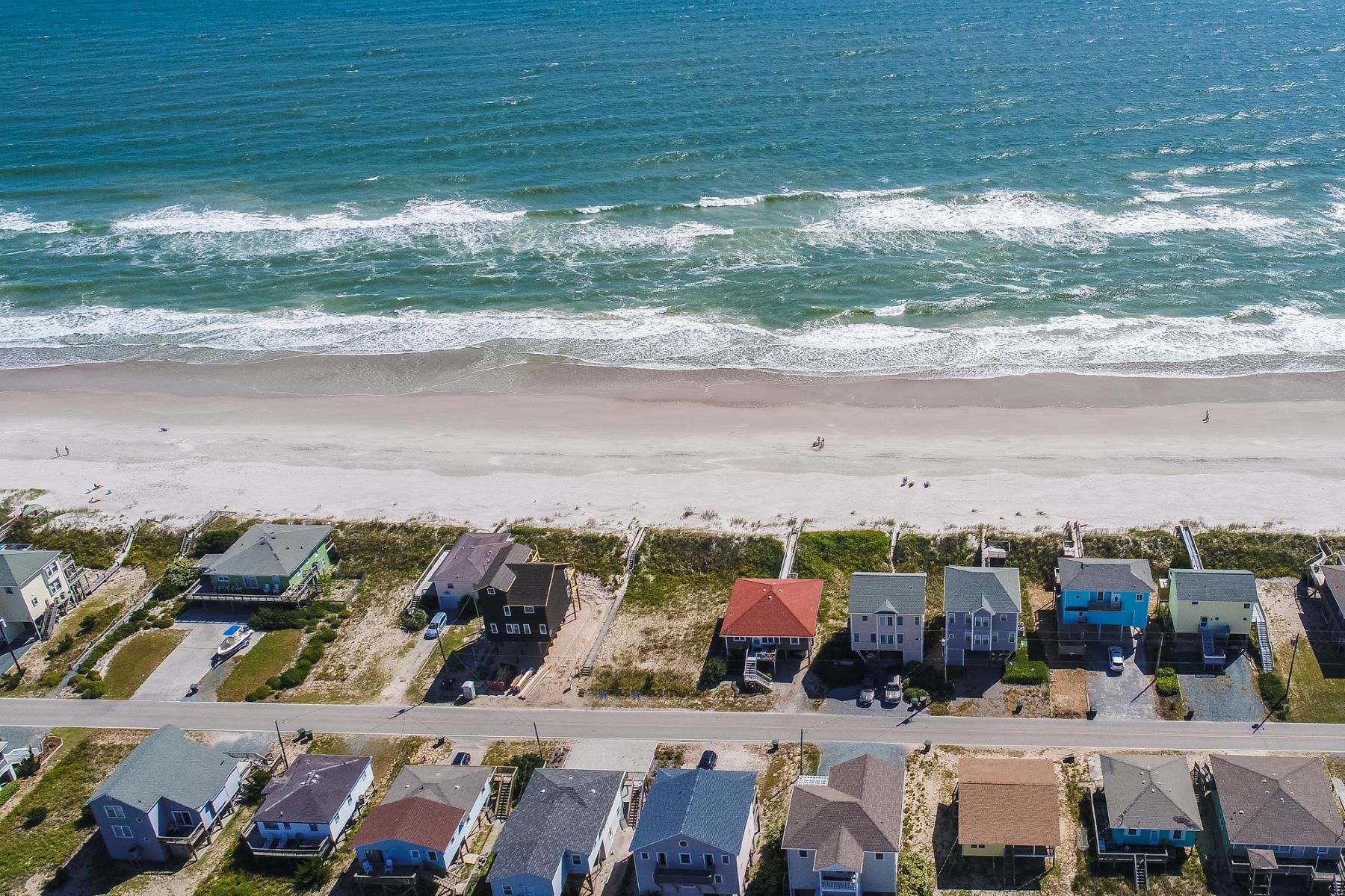 Land for Sale at Superior Oceanfront Topsail Beach Lot 1319 Ocean Boulevard, Topsail Beach, North Carolina, 28445 United States