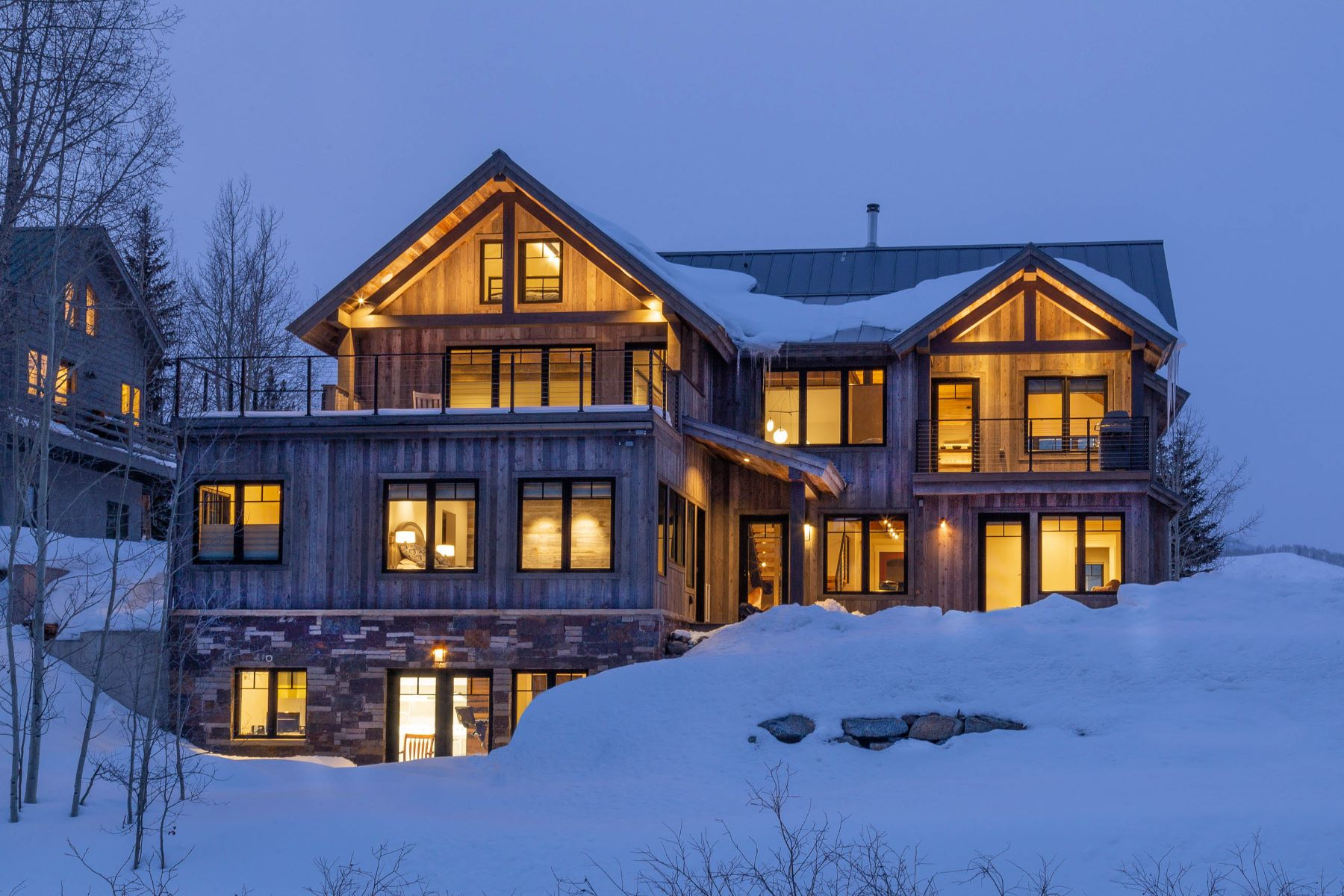 Single Family Homes for Sale at 6 Treasury Hill Road Crested Butte, Colorado 81224 United States