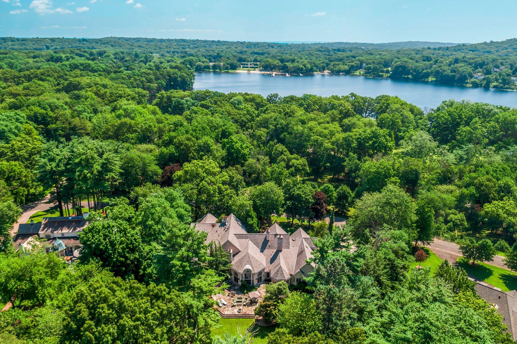 独户住宅 为 销售 在 Majestic Brick Manor 320 Algonquin Road 富兰克林湖, 07417 美国