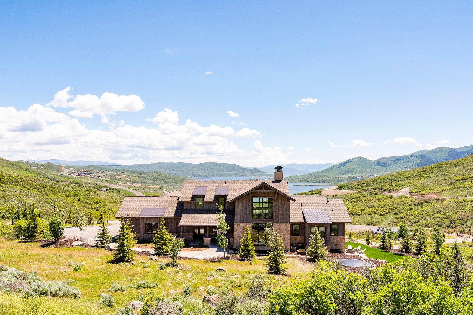 Single Family Homes for Active at Scandinavian Home with the Best Views in Deer Vista 13501 N Deer Canyon Drive Kamas, Utah 84036 United States