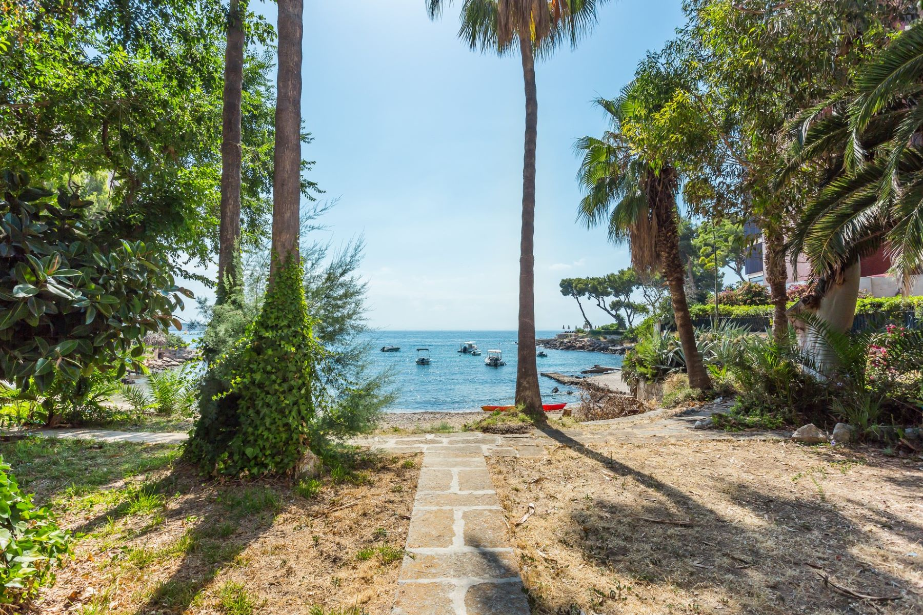 Single Family Home for Sale at 2 bed apartment directly on the beach in Illetas Illetas, Mallorca, Spain