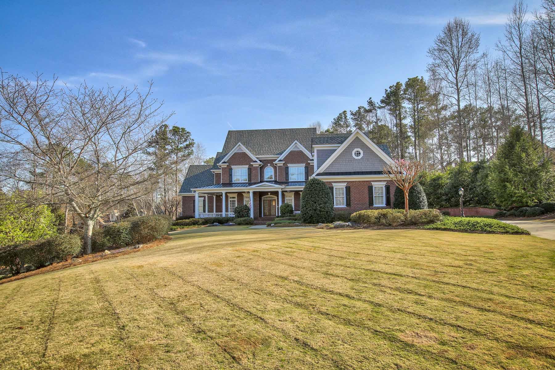 Einfamilienhaus für Verkauf beim Impeccable All Brick Estate Home 700 Lake Mist Cove Alpharetta, Georgia, 30004 Vereinigte Staaten