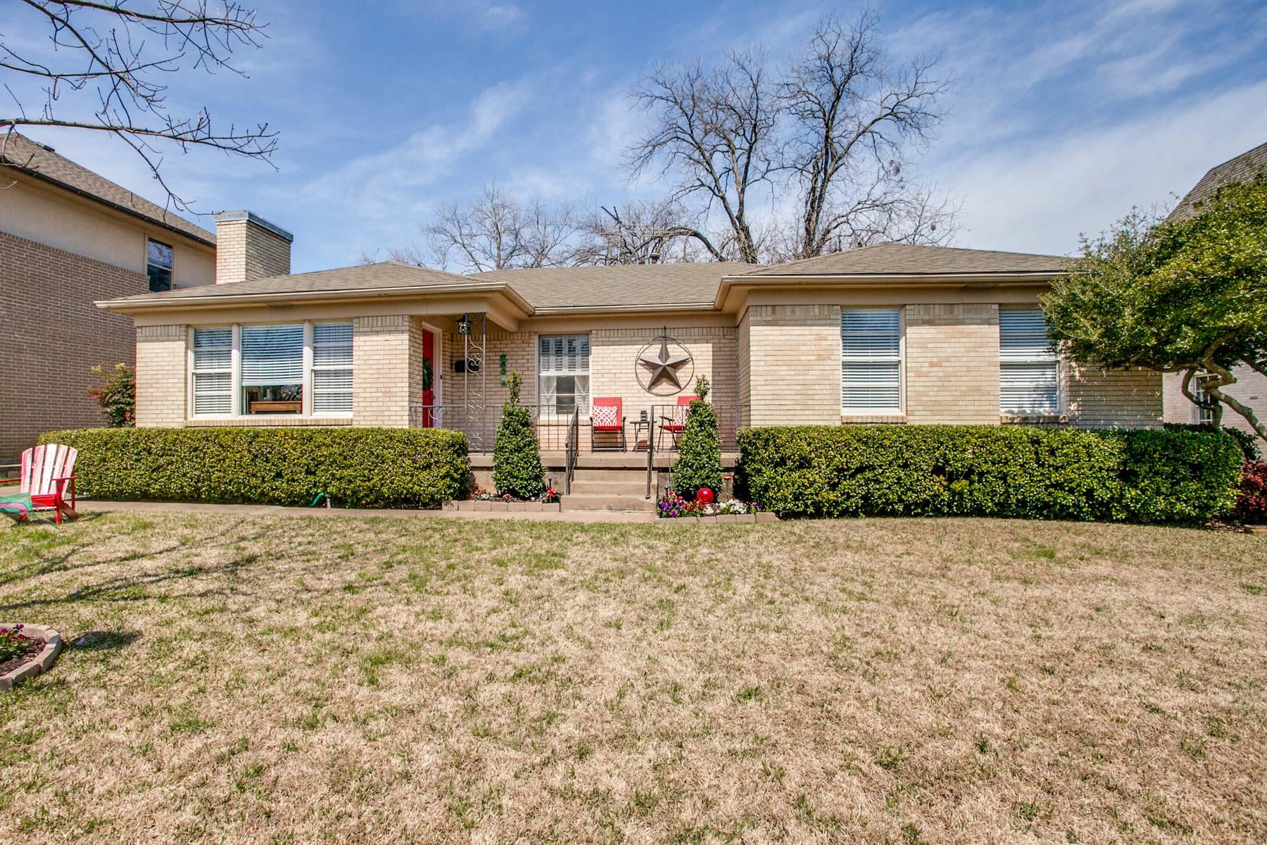 단독 가정 주택 용 매매 에 Lakewood Traditional 6611 Northridge Drive, Dallas, 텍사스, 75214 미국