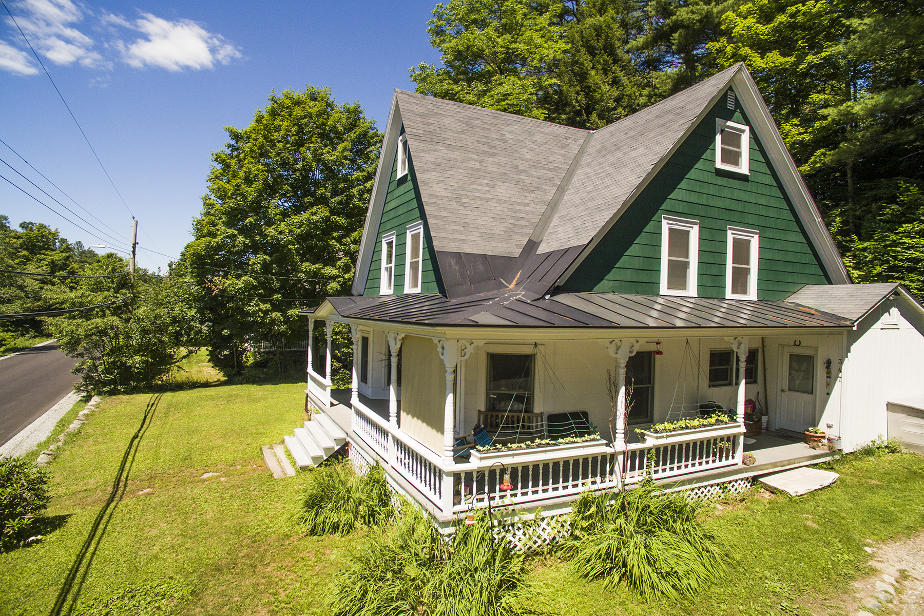 Single Family Home for Sale at Victorian Overlooking West River 347 Main St Londonderry, Vermont 05155 United States