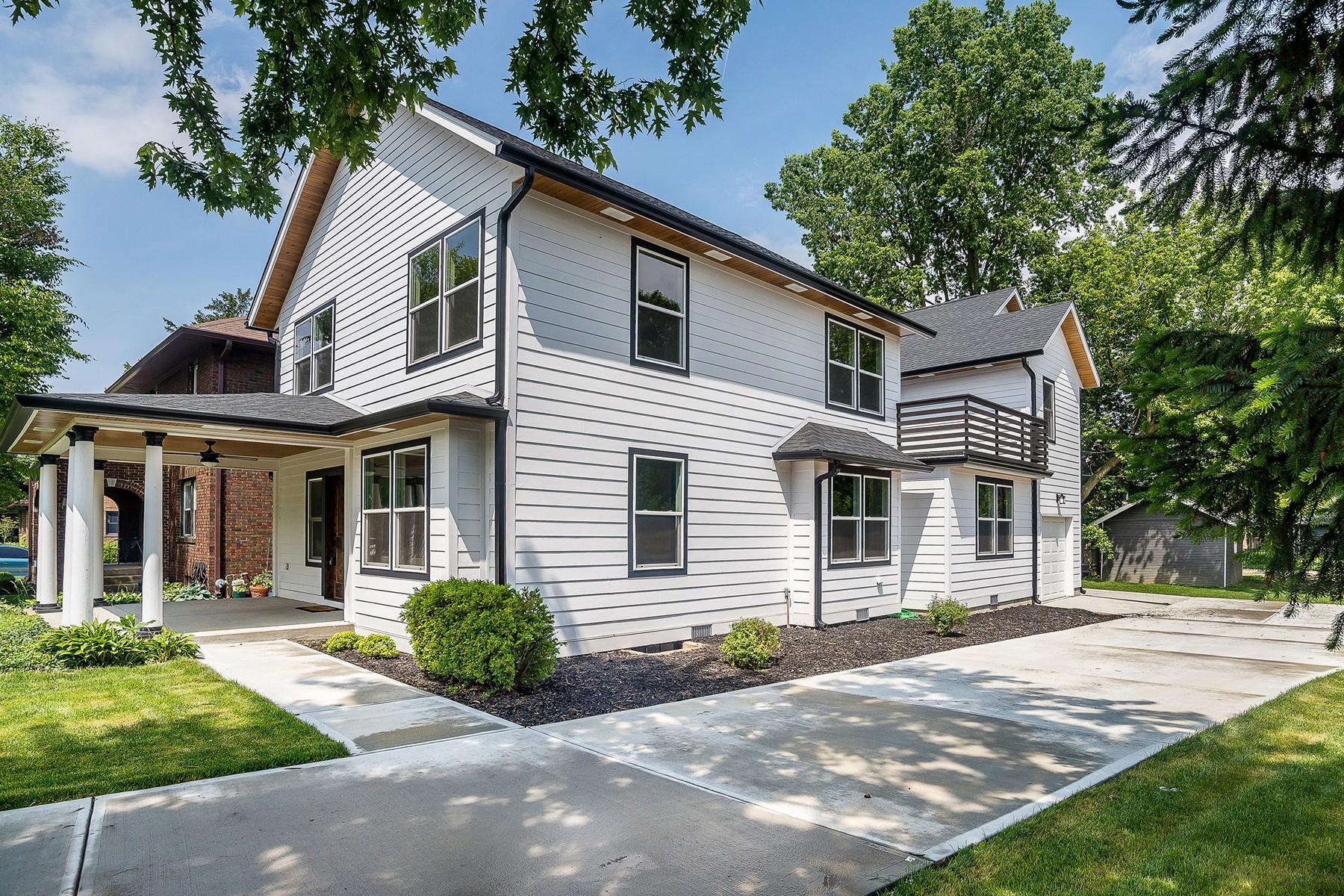 Casa para uma família para Venda às Completely Renovated & Updated! 4927 N. Pennsylvania Street Indianapolis, Indiana, 46205 Estados Unidos