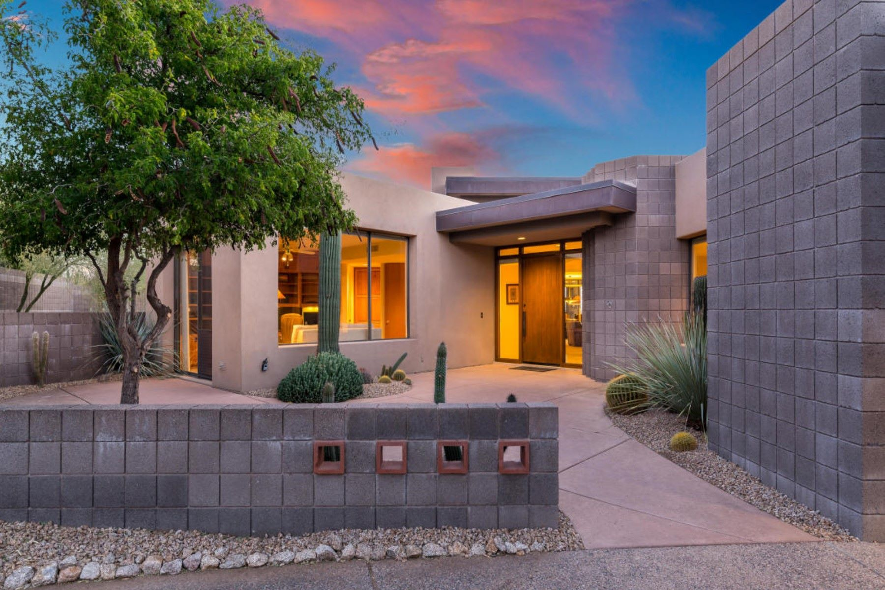 Single Family Home for Sale at Marvelous Desert Contemporary with Views 39354 N 107th Way, Scottsdale, Arizona, 85262 United States