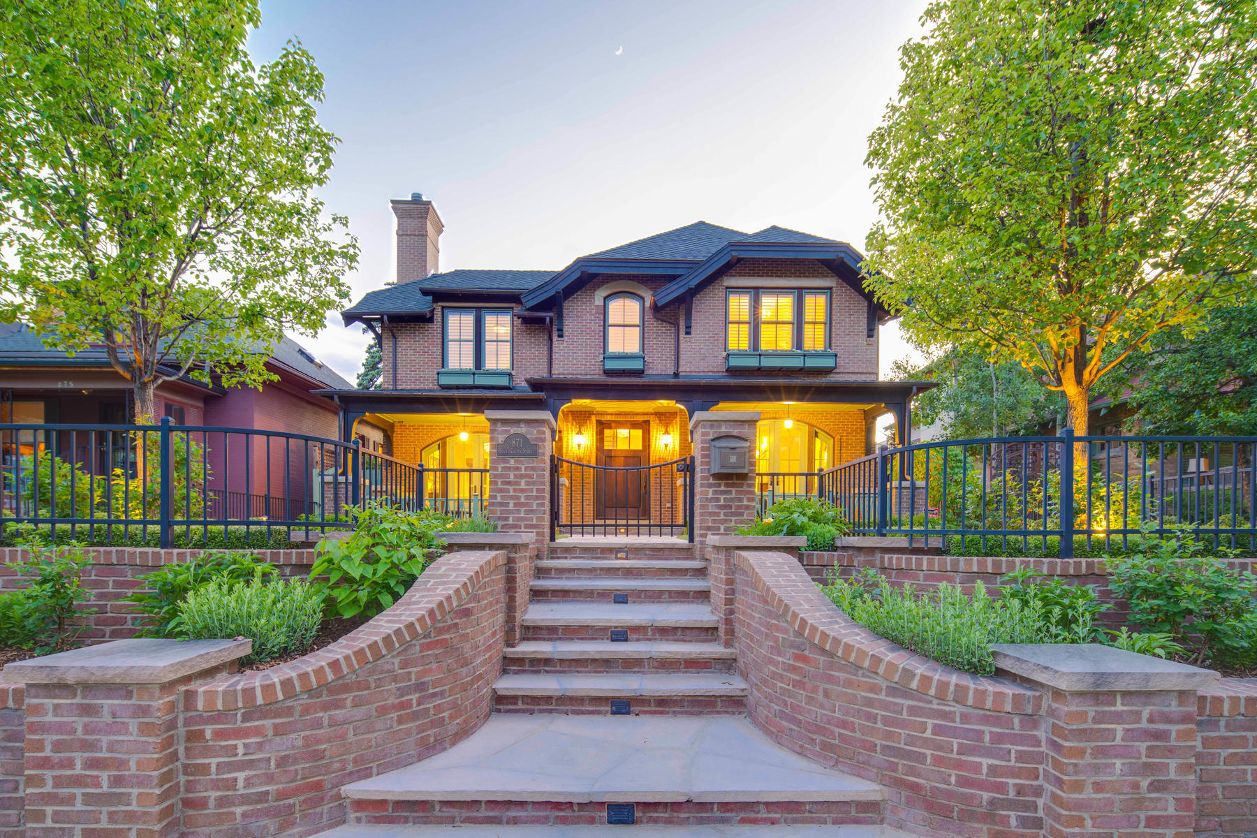 "Single Family Homes for Sale at ""My favorite Chalet build on the best block"" 871 S Gilpin Street Denver, Colorado 80209 United States"