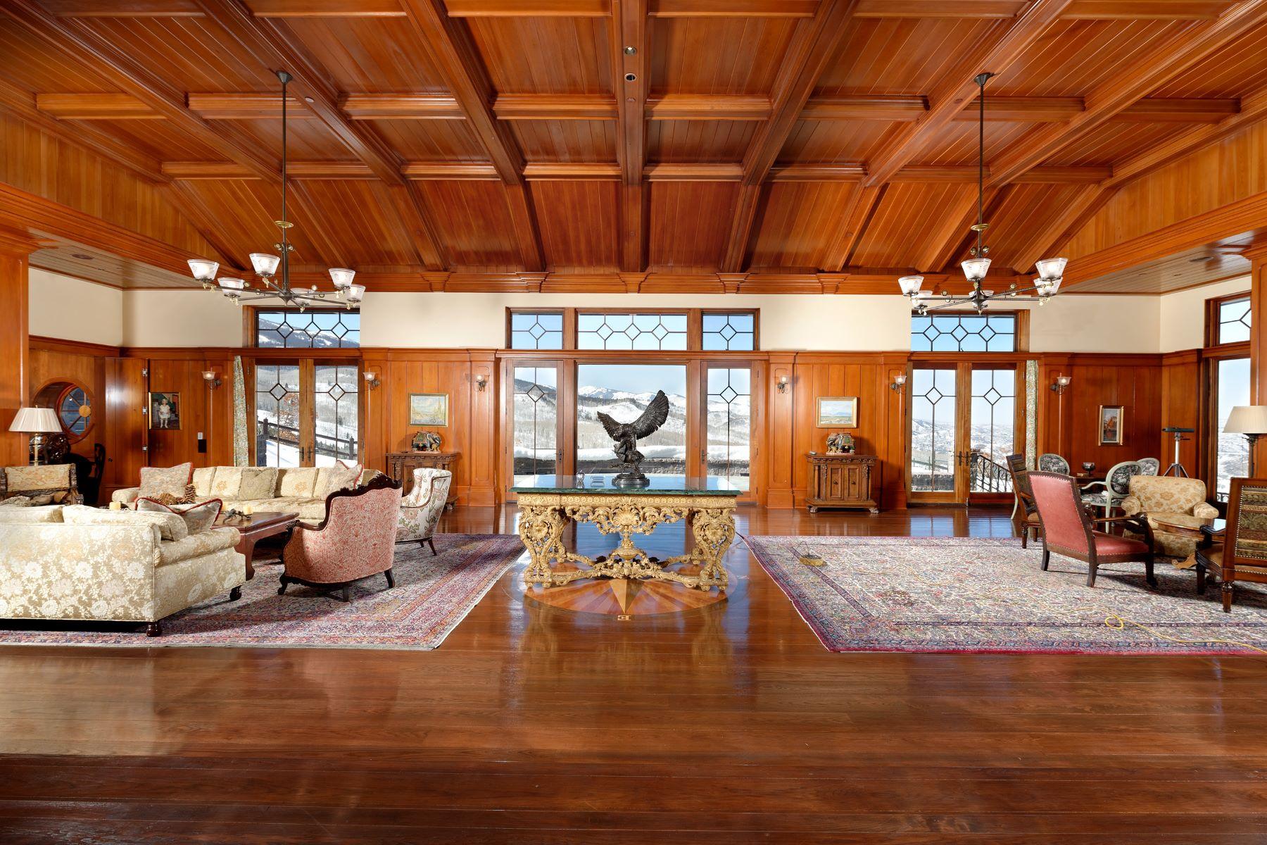 Частный односемейный дом для того Продажа на Owl Mountain Ranch 2900 West Buttermilk Road West Aspen, Aspen, Колорадо, 81611 Соединенные Штаты
