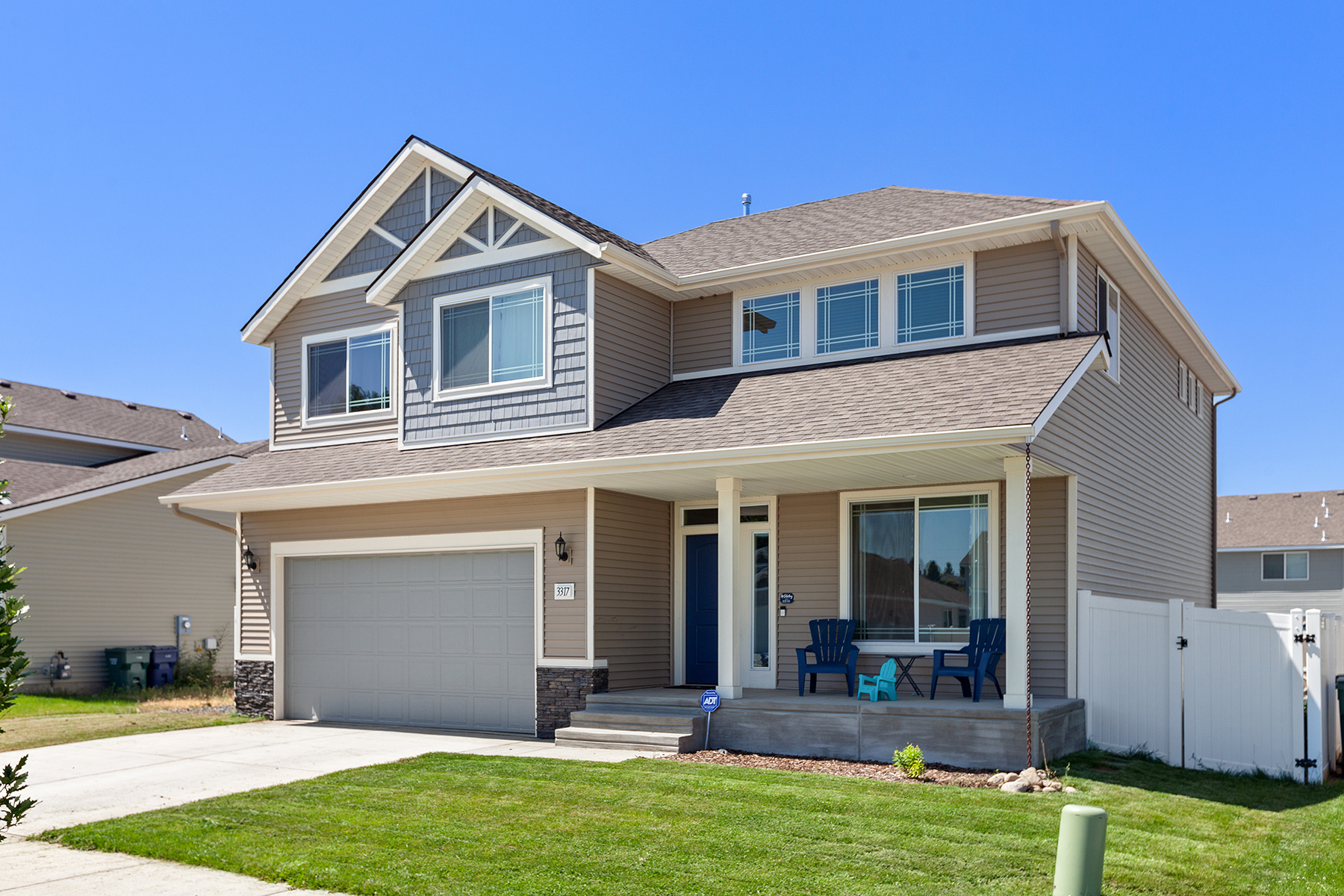 Single Family Homes for Active at Great Home in Whiskey Flats 3317 N Knob Creek Post Falls, Idaho 83854 United States
