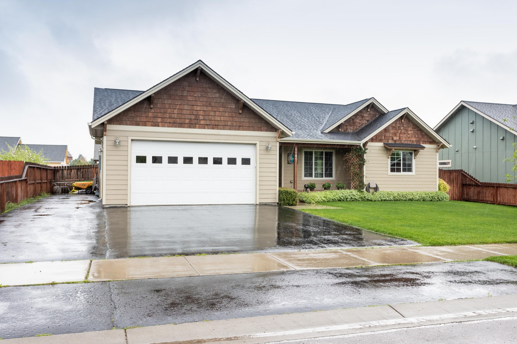 Single Family Homes for Sale at Columbia Falls Rancher 1161 16th Avenue West Columbia Falls, Montana 59912 United States