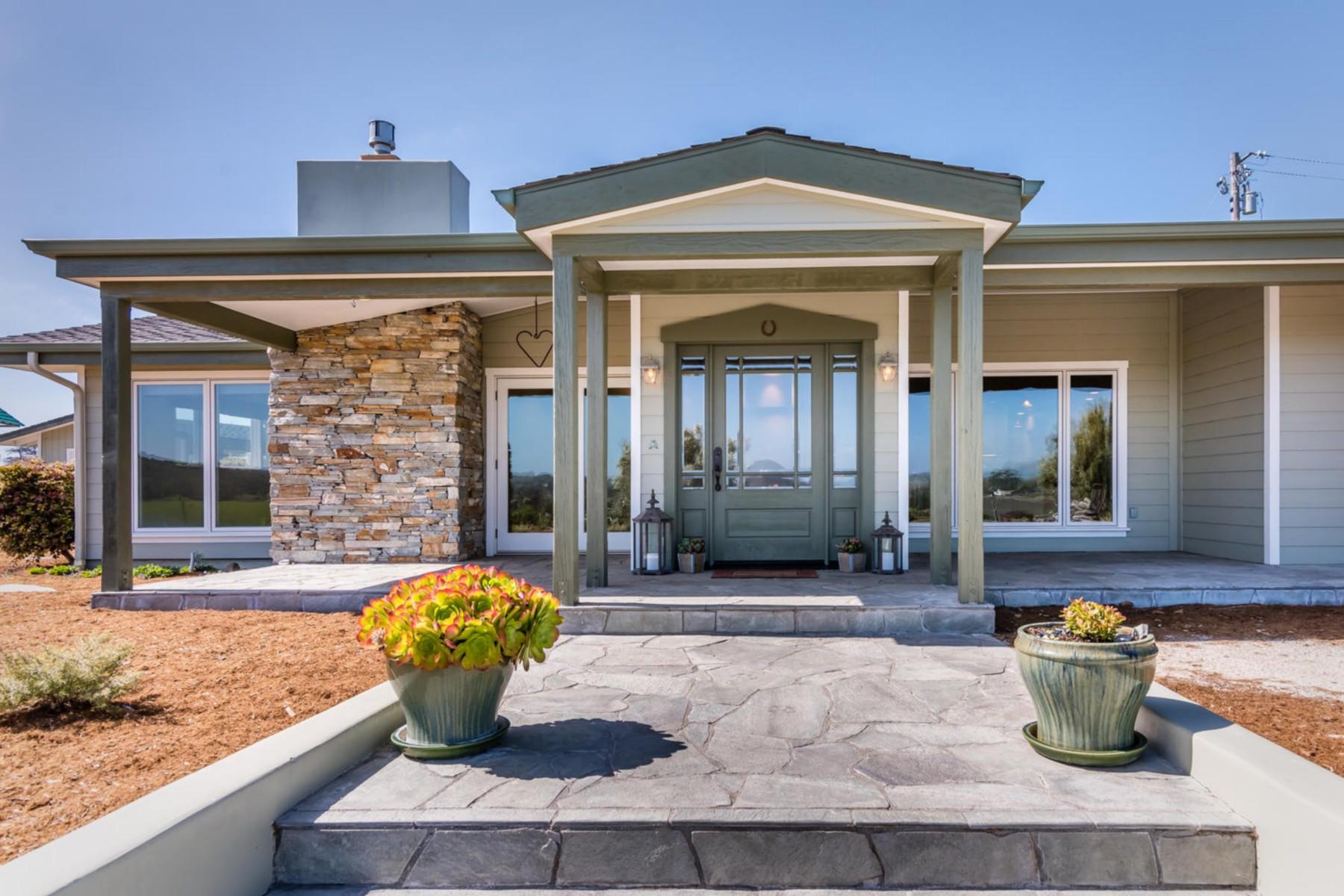 Частный односемейный дом для того Продажа на 6060 Los Ranchos Road 6060 Los Ranchos Rd San Luis Obispo, Калифорния, 93401 Соединенные Штаты