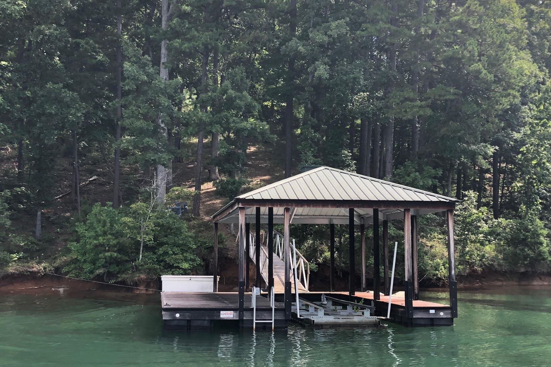 Land for Active at Dock in place with lift CKS 4B-81 Six Mile, South Carolina 29682 United States