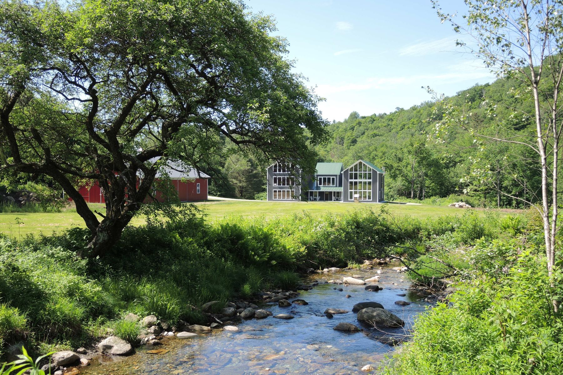 Single Family Home for Sale at Steam Mill Brook Lodge 5A Baker Brook Trl Chittenden, Vermont 05737 United States