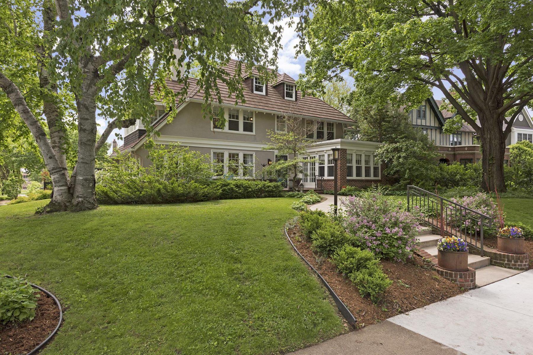 Maison unifamiliale pour l Vente à 2603 Newton Ave. S. 2603 Newton Avenue South Minneapolis, Minnesota, 55405 États-Unis