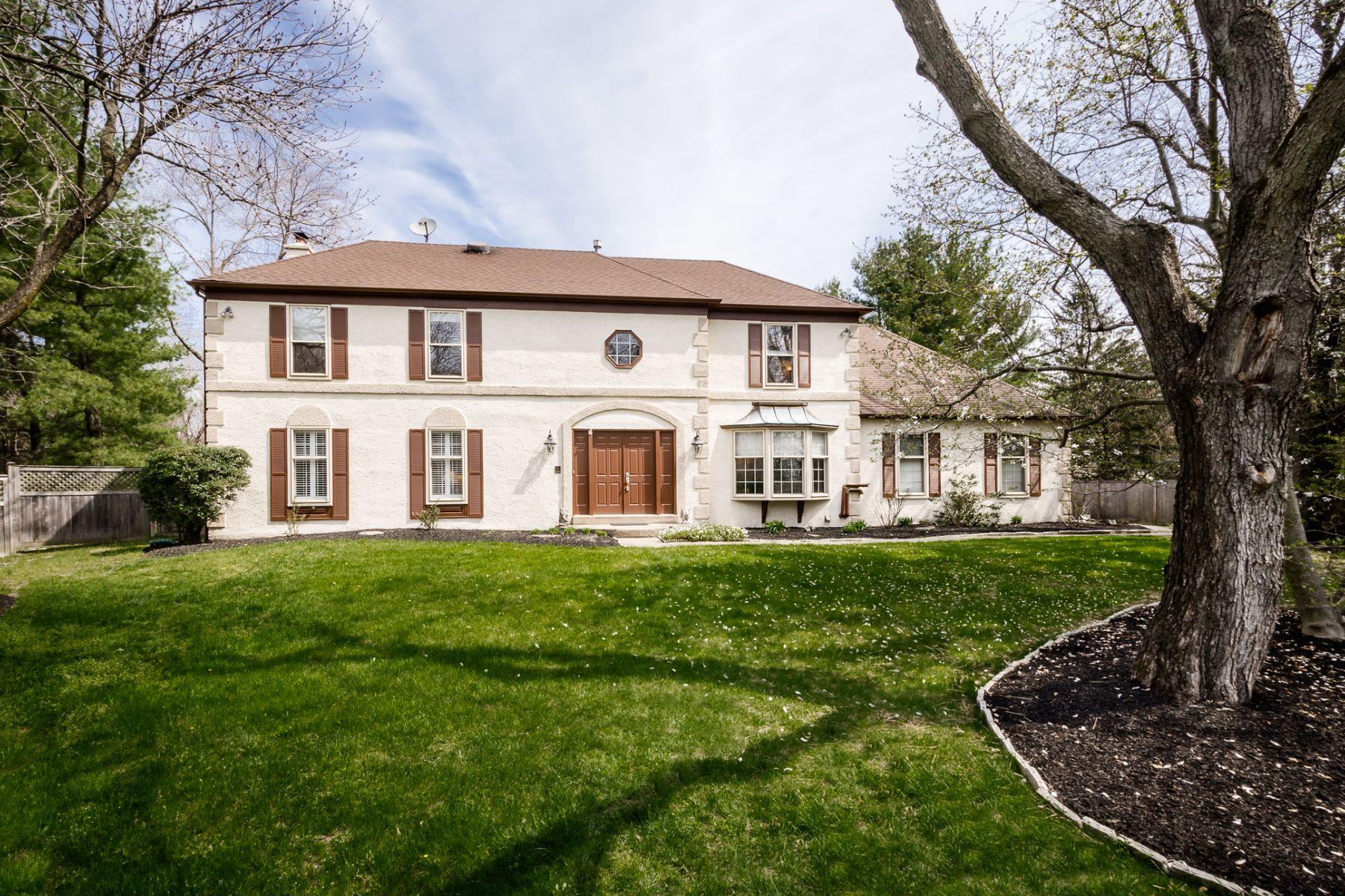 Частный односемейный дом для того Продажа на Relax and Entertain in a serene Lawrenceville Home 6 Knox Court Lawrenceville, 08648 Соединенные Штаты