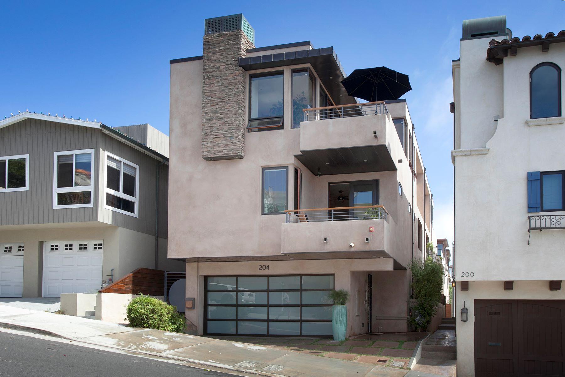 联栋屋 为 销售 在 204 21st St, Manhattan Beach 90266 204 21st Street 曼哈顿海滩, 加利福尼亚州, 90266 美国