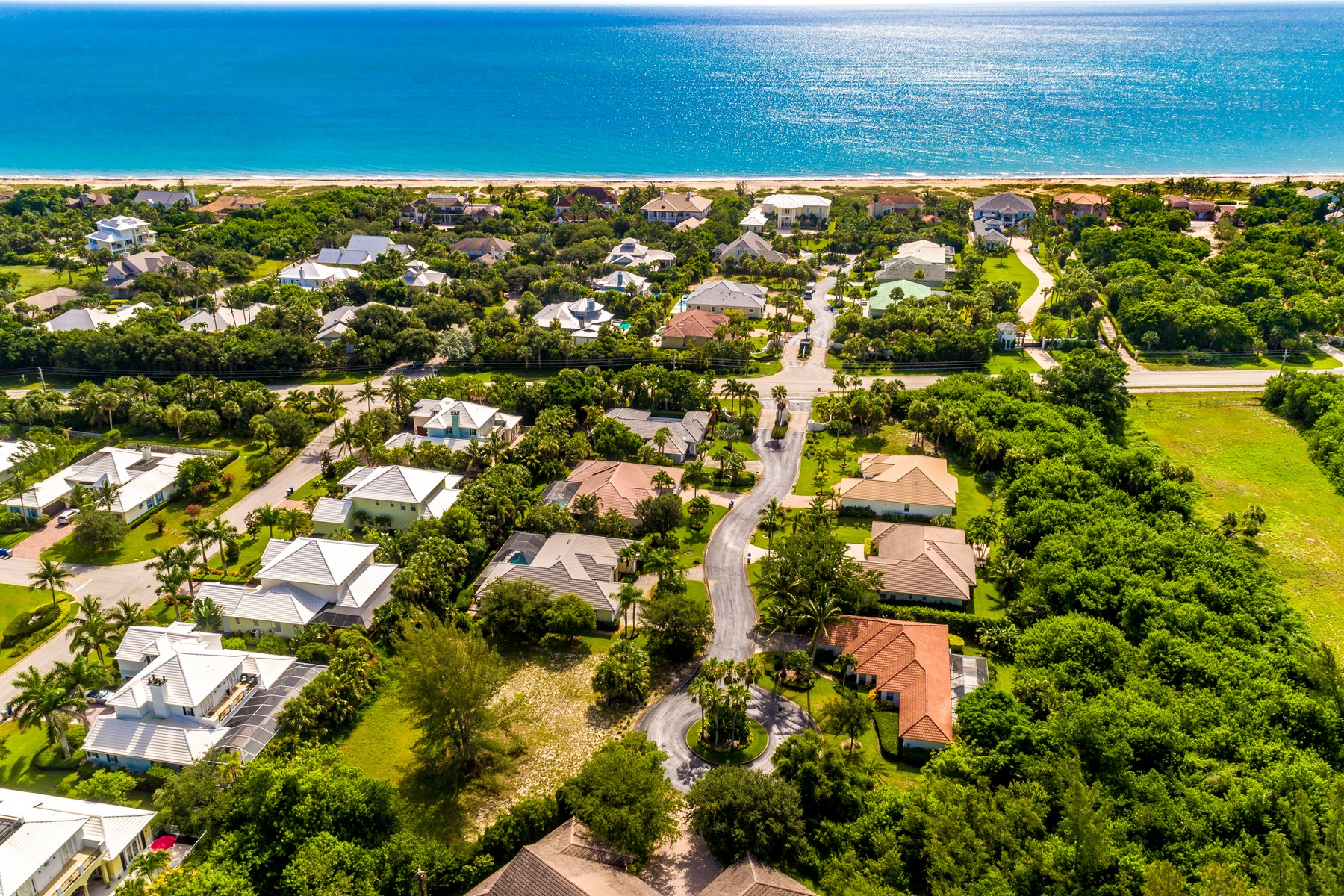 Land for Sale at Large Private Homesite for Your Dream Home in South Beach 2120 W Beachside Lane Vero Beach, Florida 32963 United States