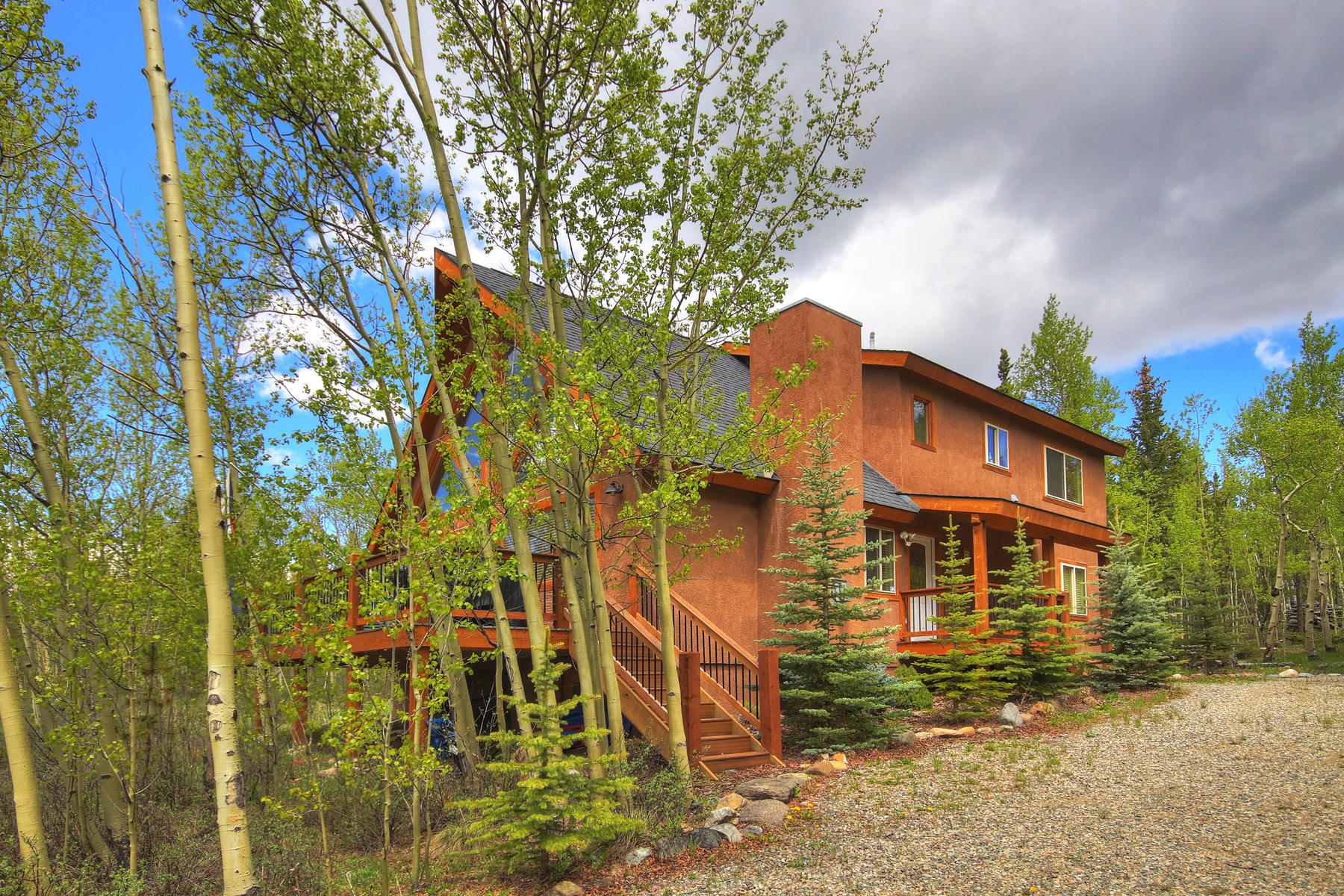 Single Family Homes for Sale at The Perfect Cabin in the Woods 57 Muhly Court Fairplay, Colorado 80440 United States