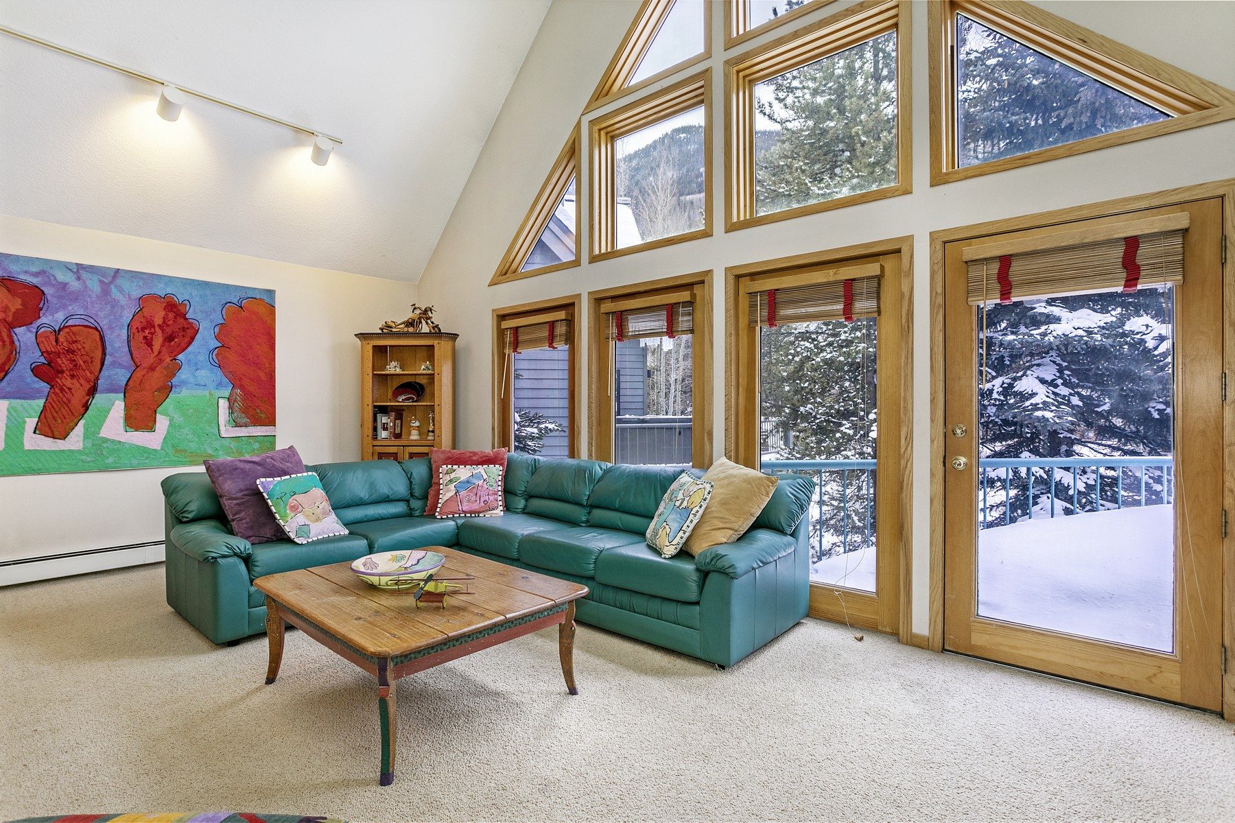 Single Family Home for Active at Outstanding opportunity to own a single family home in East Vail 3891 Big Horn Road #C Vail, Colorado 81657 United States