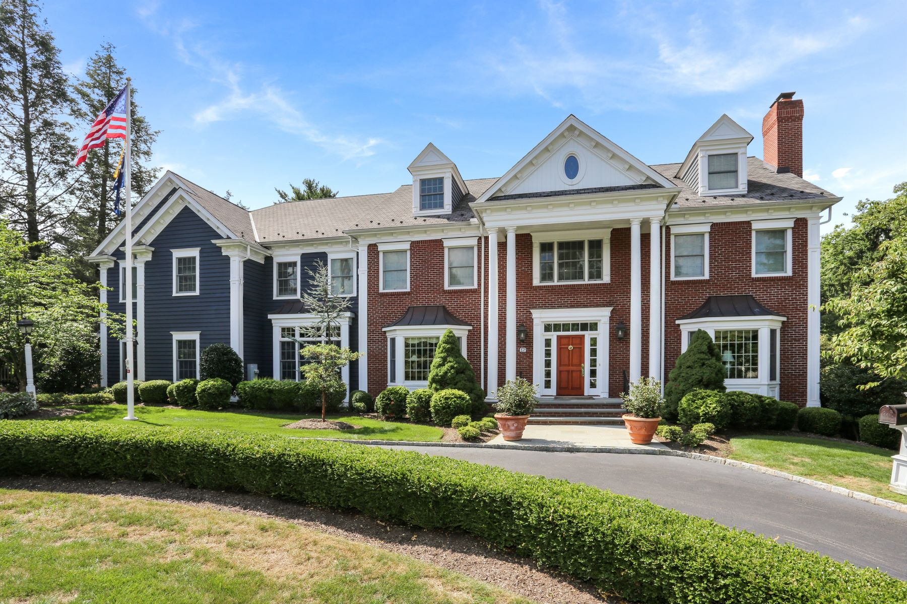 "Single Family Homes للـ Sale في Spectacular ""Hill"" Home 272 Woodland Road, Madison, New Jersey 07940 United States"