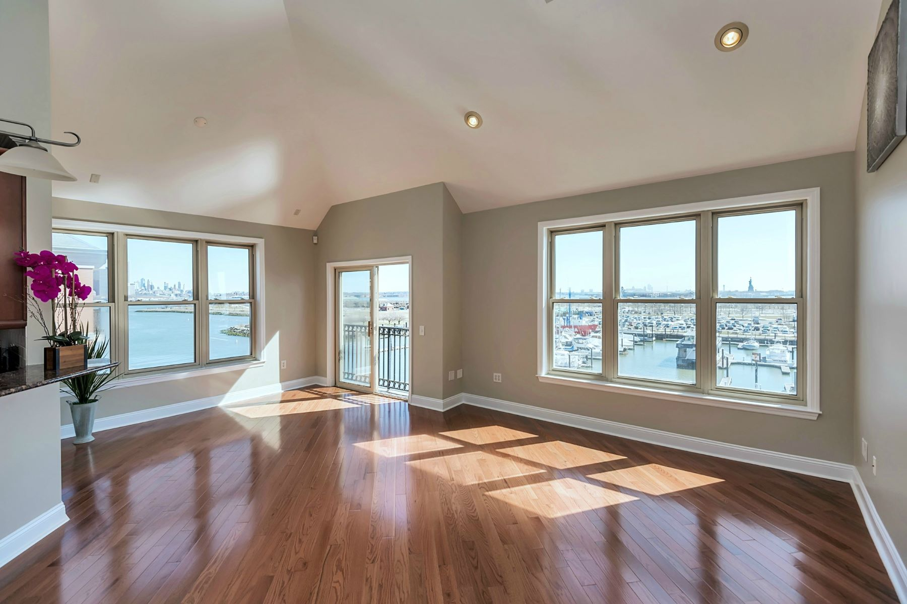 Duplex for Sale at Sun-drenched, South-East facing duplex 15 Warren St #417 #417 Jersey City, 07302 United States