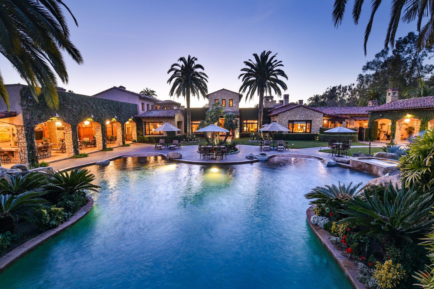 Single Family Homes for Active at 6314 El Apajo Rancho Santa Fe, California 92067 United States