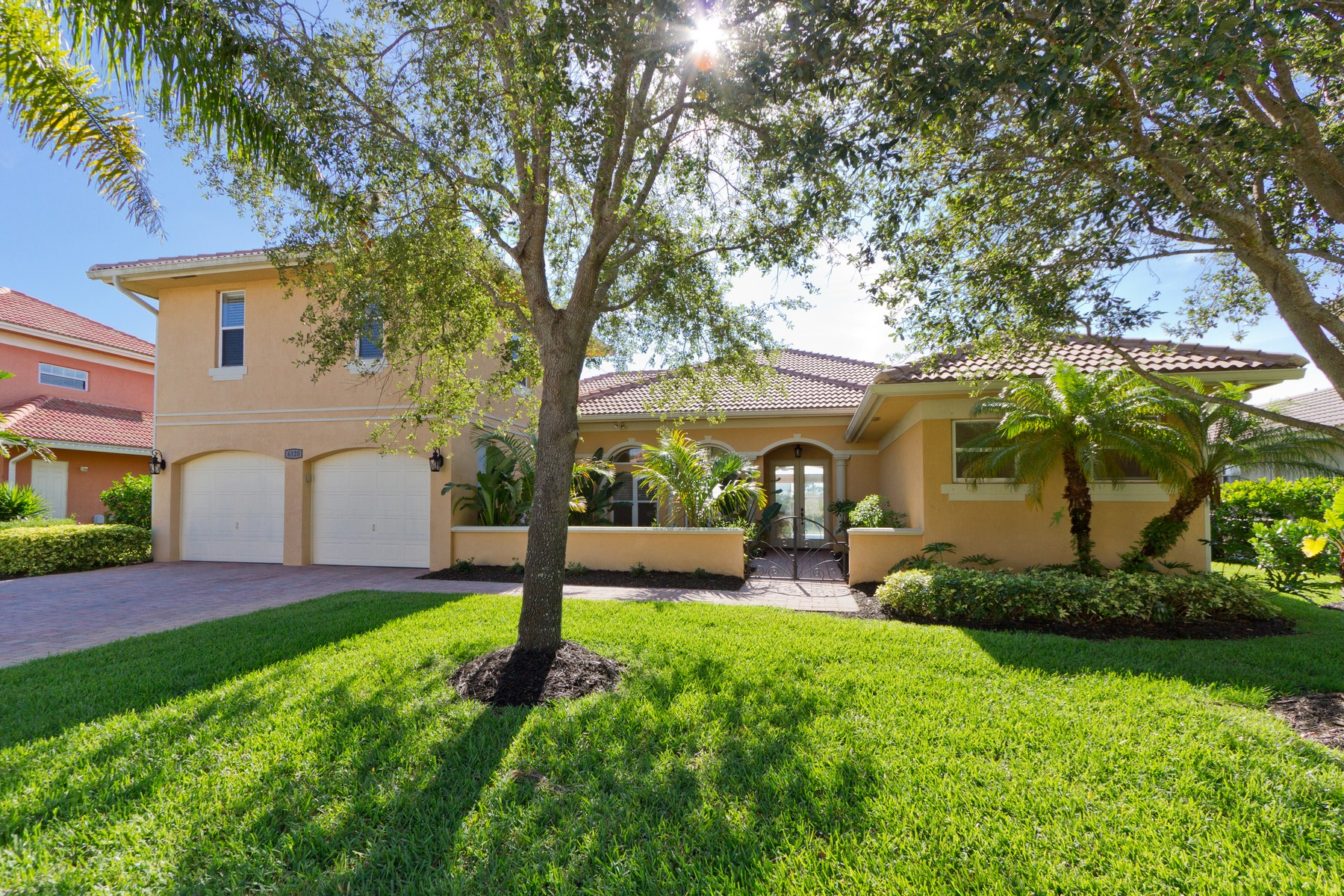 Single Family Home for Sale at Lakeside Tuscany Model Exudes Mediterranean Charm 6120 56th Ave Vero Beach, Florida 32967 United States