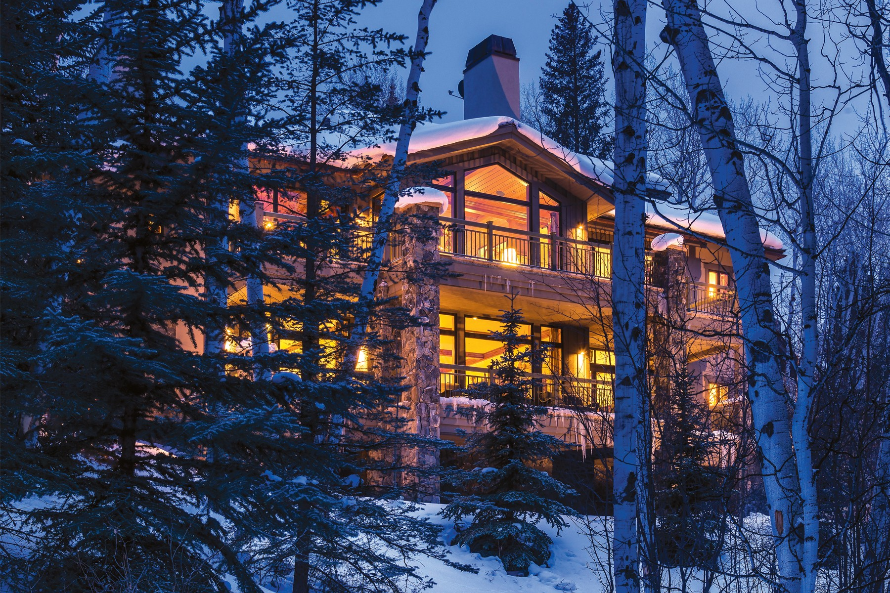Property for Active at Unique custom build 185 Forest Road #A Vail, Colorado 81657 United States