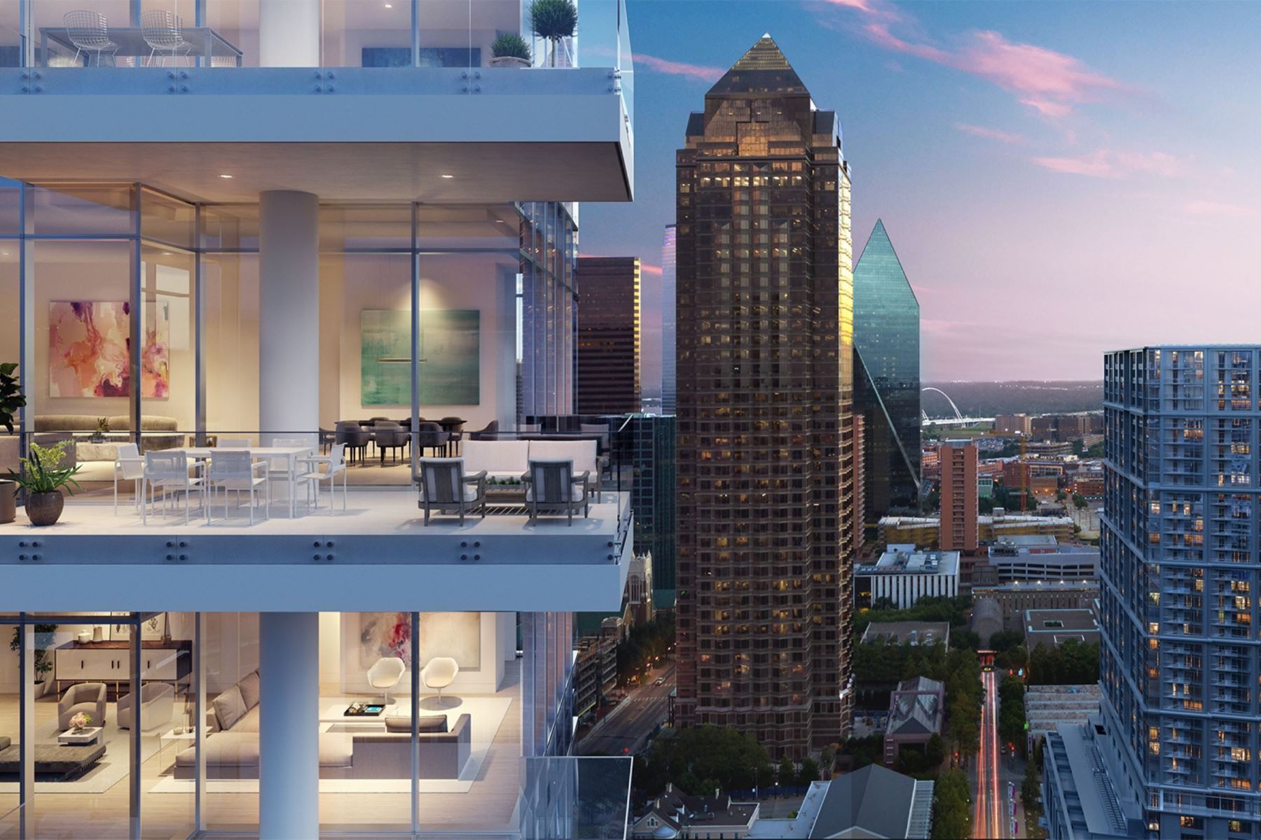 Condominiums for Sale at Hall Arts Residences 1747 Leonard Street #1501 Dallas, Texas 75201 United States