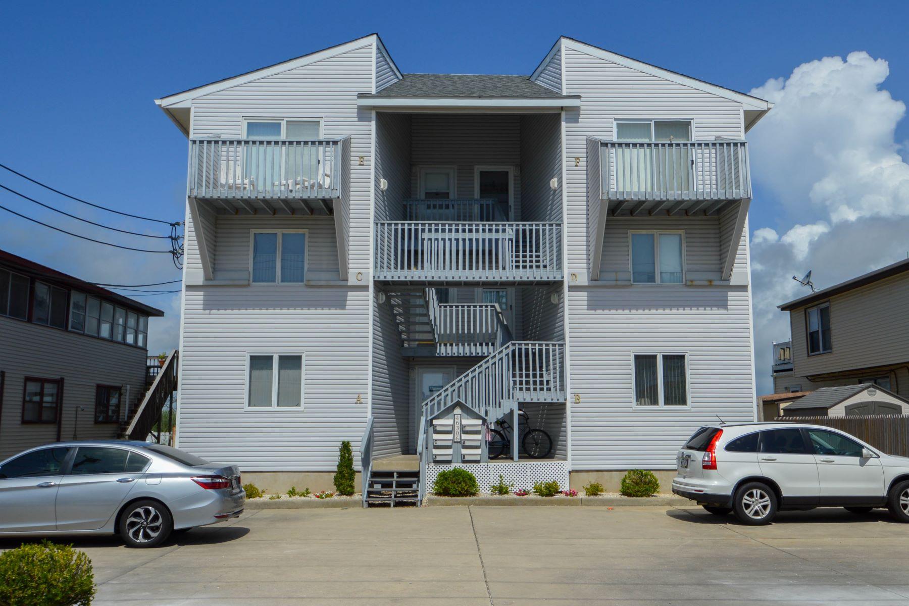 Condominium for Sale at Bay View Condo 6306 Central Ave Unit B, Sea Isle City, New Jersey 08243 United States