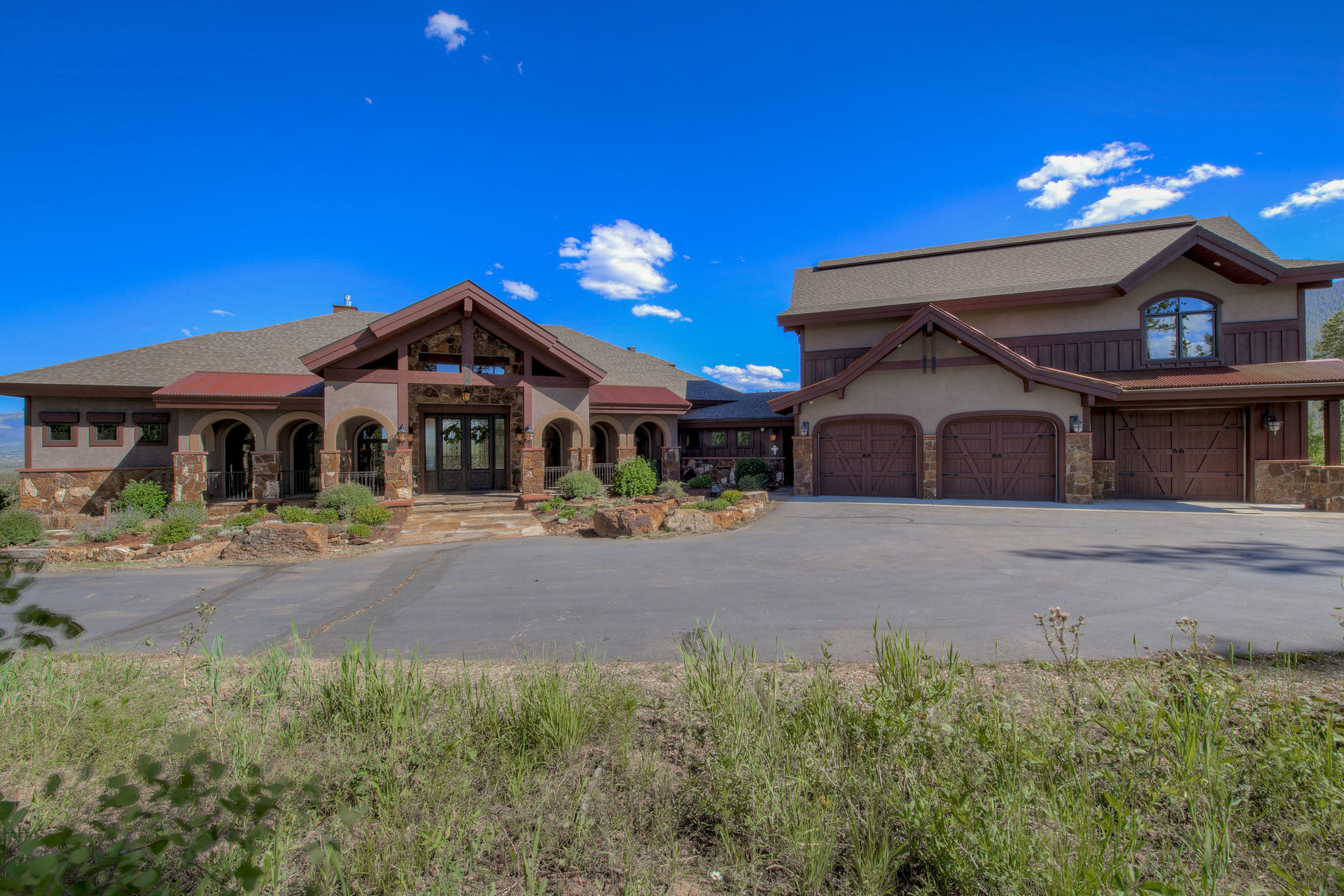 Single Family Homes for Sale at Mediterranean Mountain Home 147 GCR 51991 Tabernash, Colorado 80478 United States