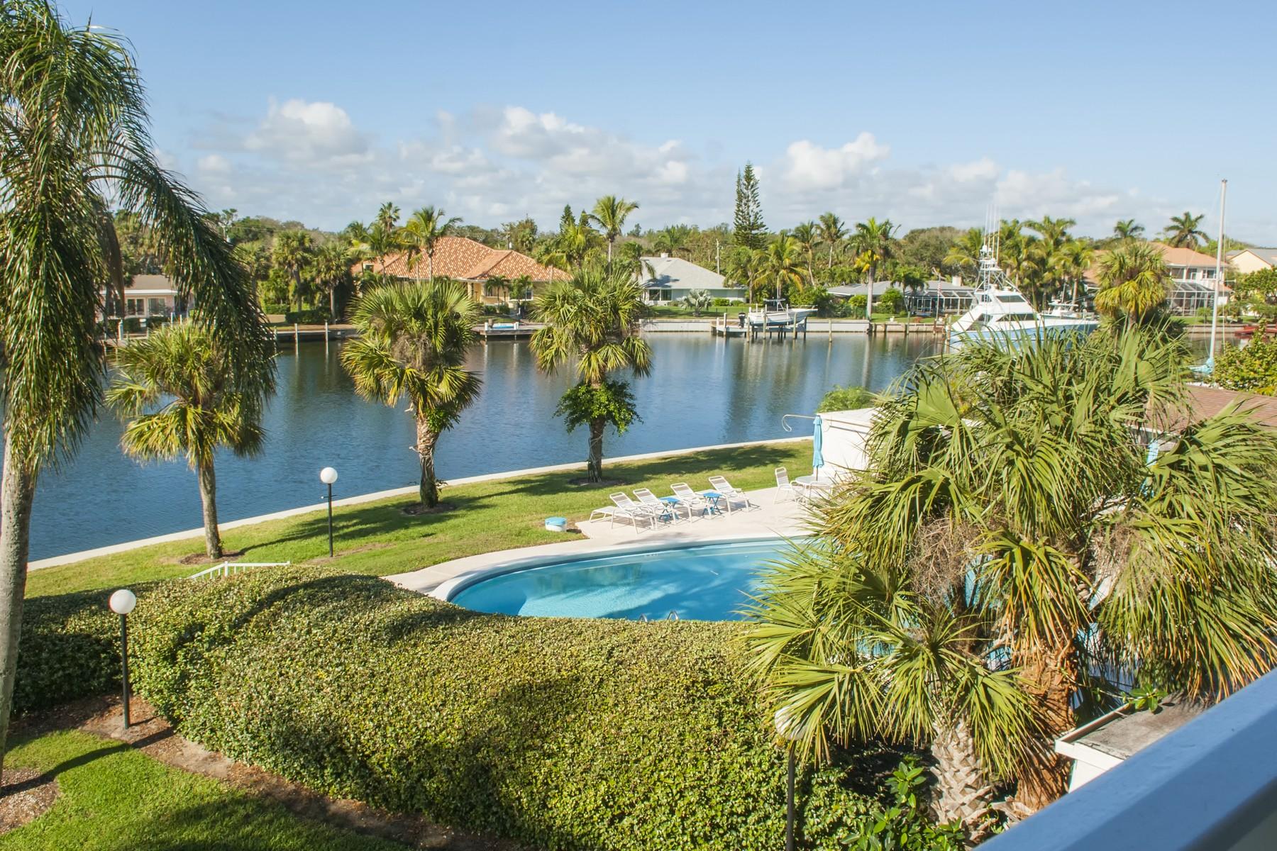 Appartement voor Verkoop een t Riverfront Penthouse 4601 Highway A1A #504 Vero Beach, Florida 32963 United States