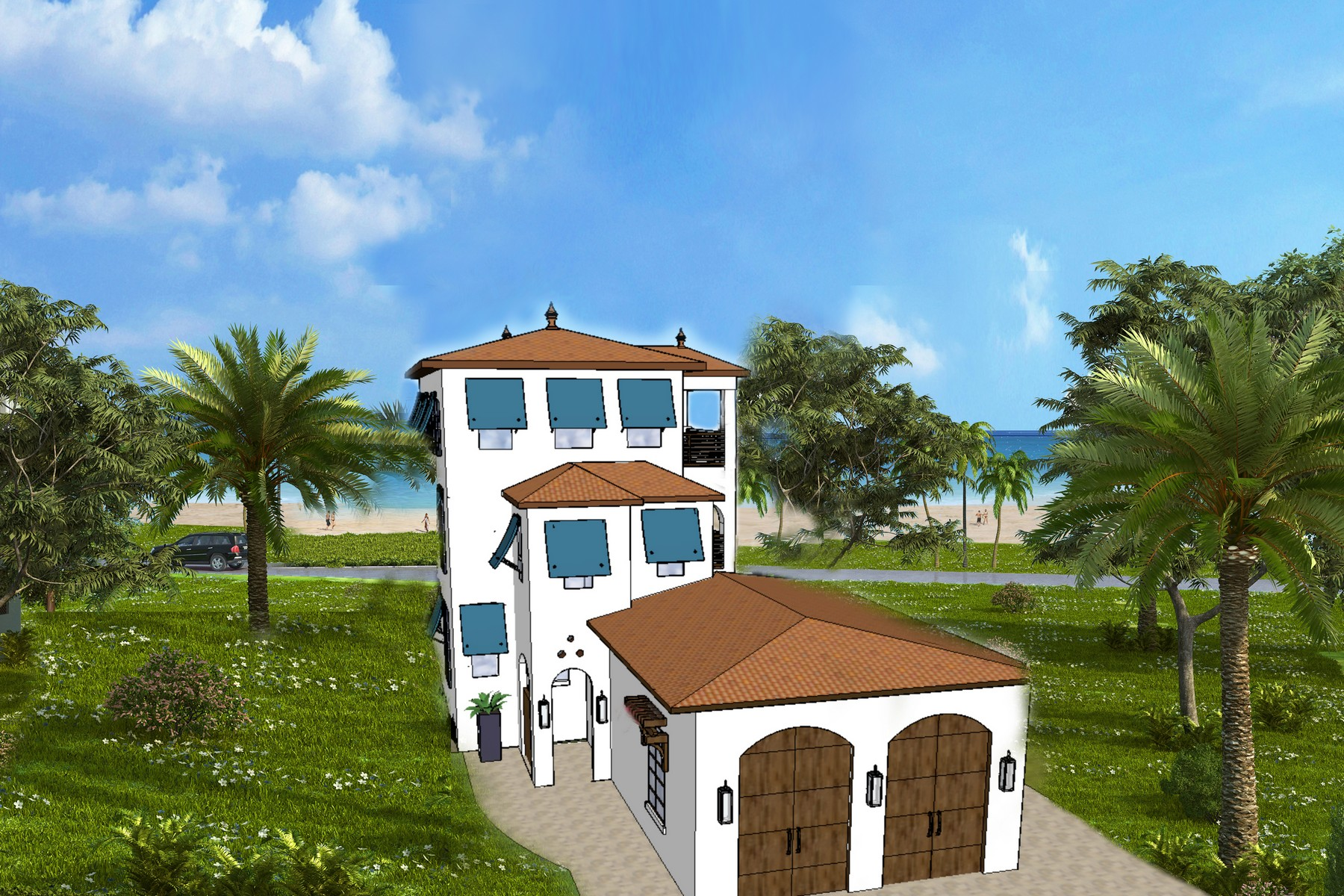 Maison unifamiliale pour l Vente à Matanilla Reef, Aquarina 7451 Matanilla Reef Way Melbourne Beach, Florida, 32951 États-Unis