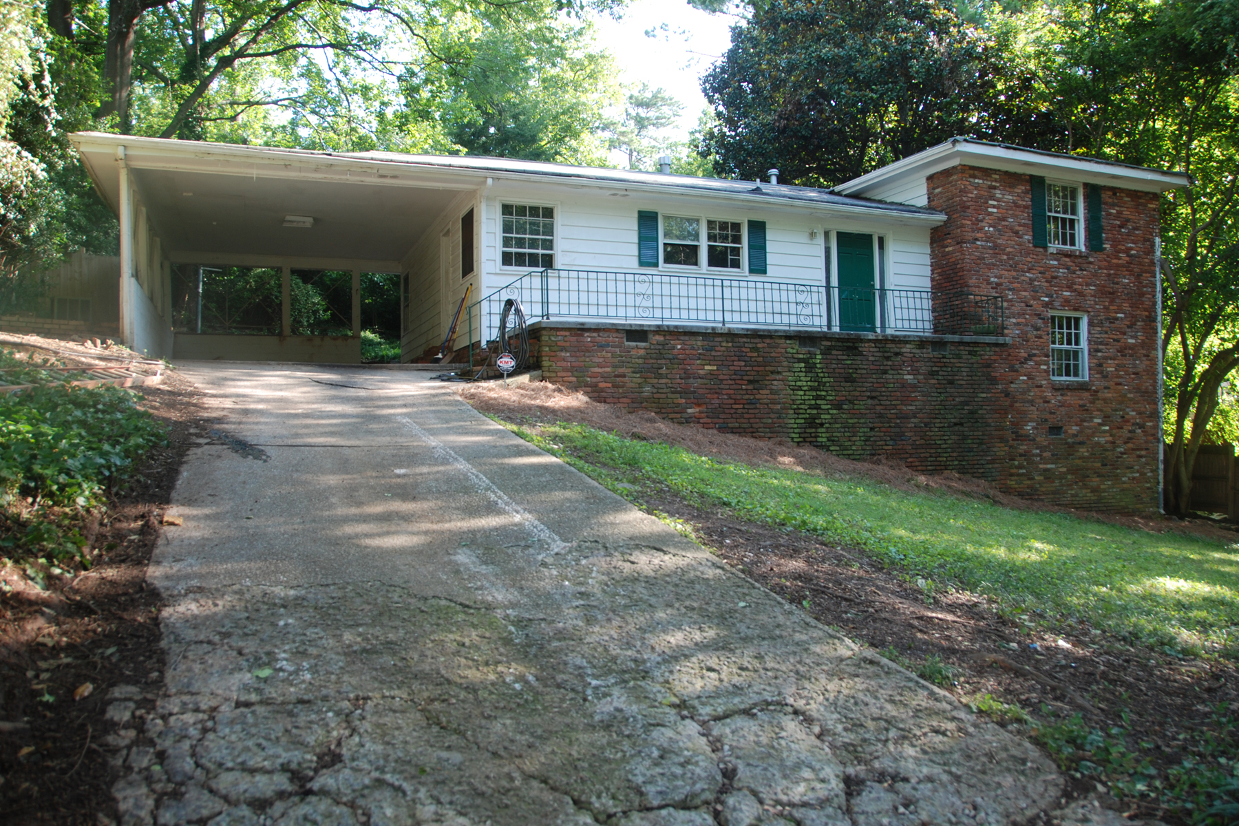 Single Family Home for Sale at Split-Level Home in Sought-After North Buckhead 348 Lakemoore Drive Atlanta, Georgia 30342 United States