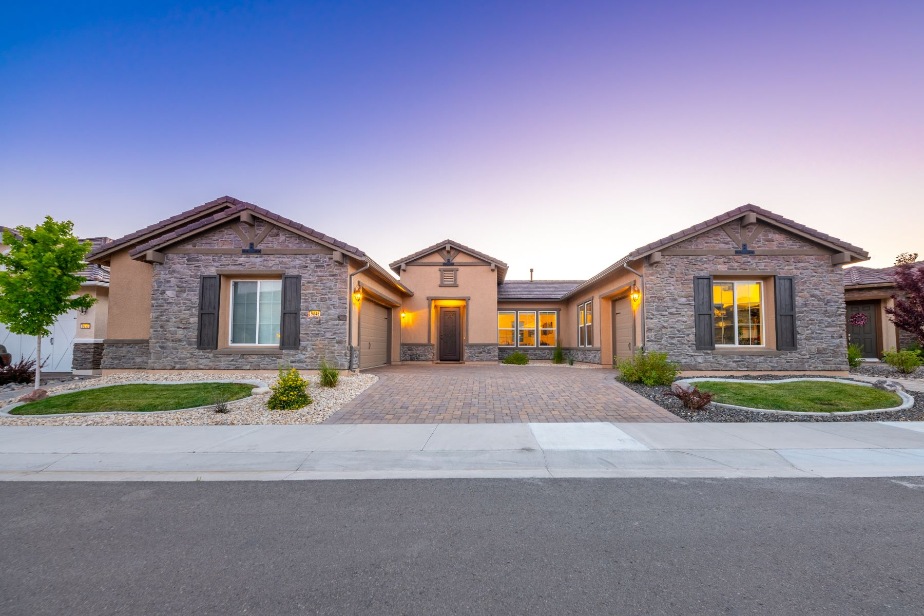 Single Family Homes for Sale at Regency at Damonte Ranch 9845 Shadowless Trail Reno, Nevada 89521 United States