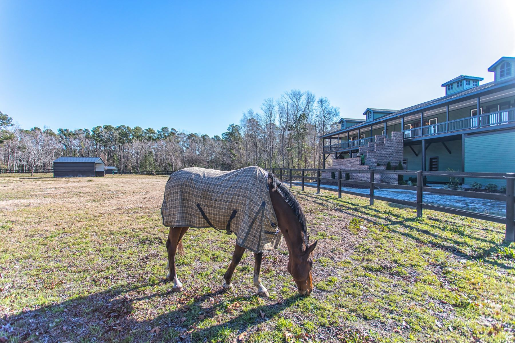 Single Family Homes for Active at Elegant Equestrian Property Near the Ocean 240 Green Bay Road NW Ocean Isle Beach, North Carolina 28469 United States
